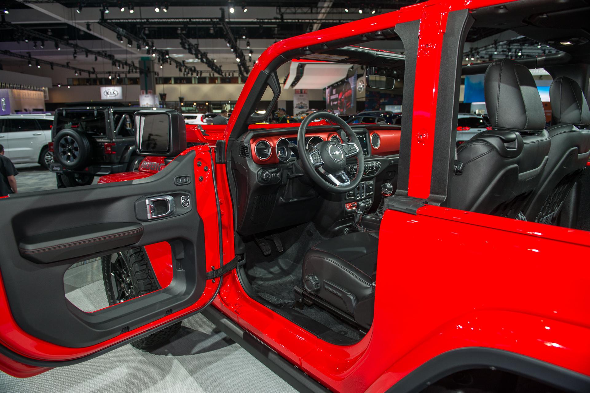 Jeep Wrangler JL donut doors no longer confirmed for 2019