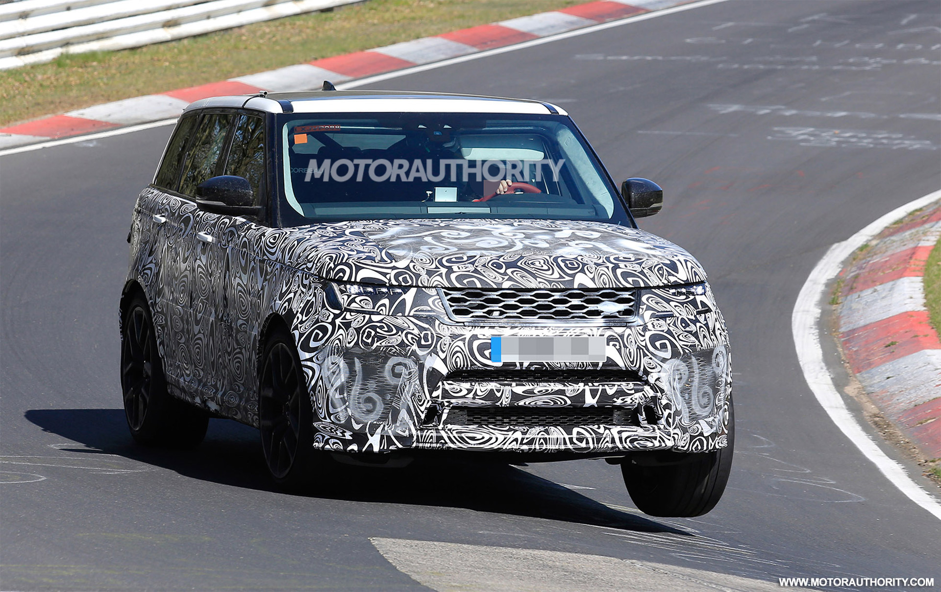 2018 Land Rover Range Sport SVR Spy Shots And Video