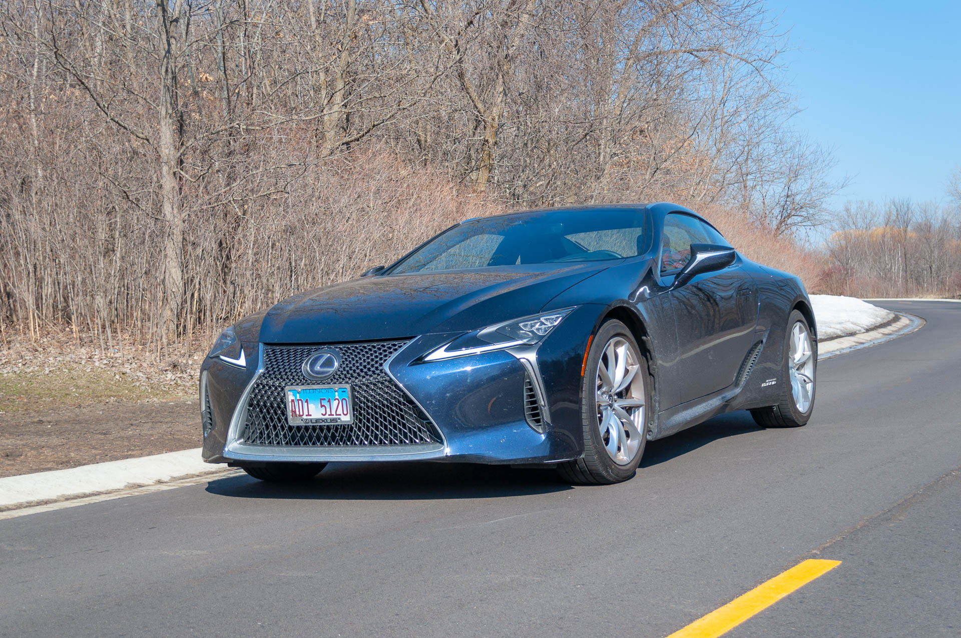 2018 Lexus LC 500h gas mileage review