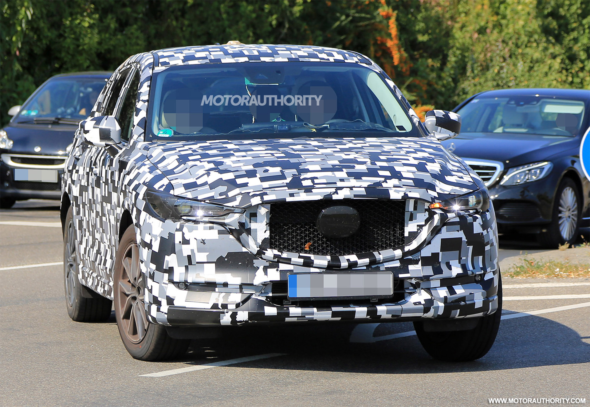 2018 Mazda Cx 5 Spy Shots