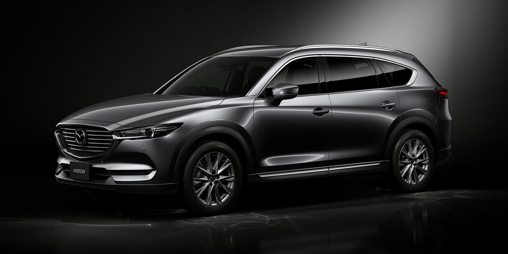 New Mazda Suv >> Mazda Cx 8 Revealed A New 3 Row Suv For Japan
