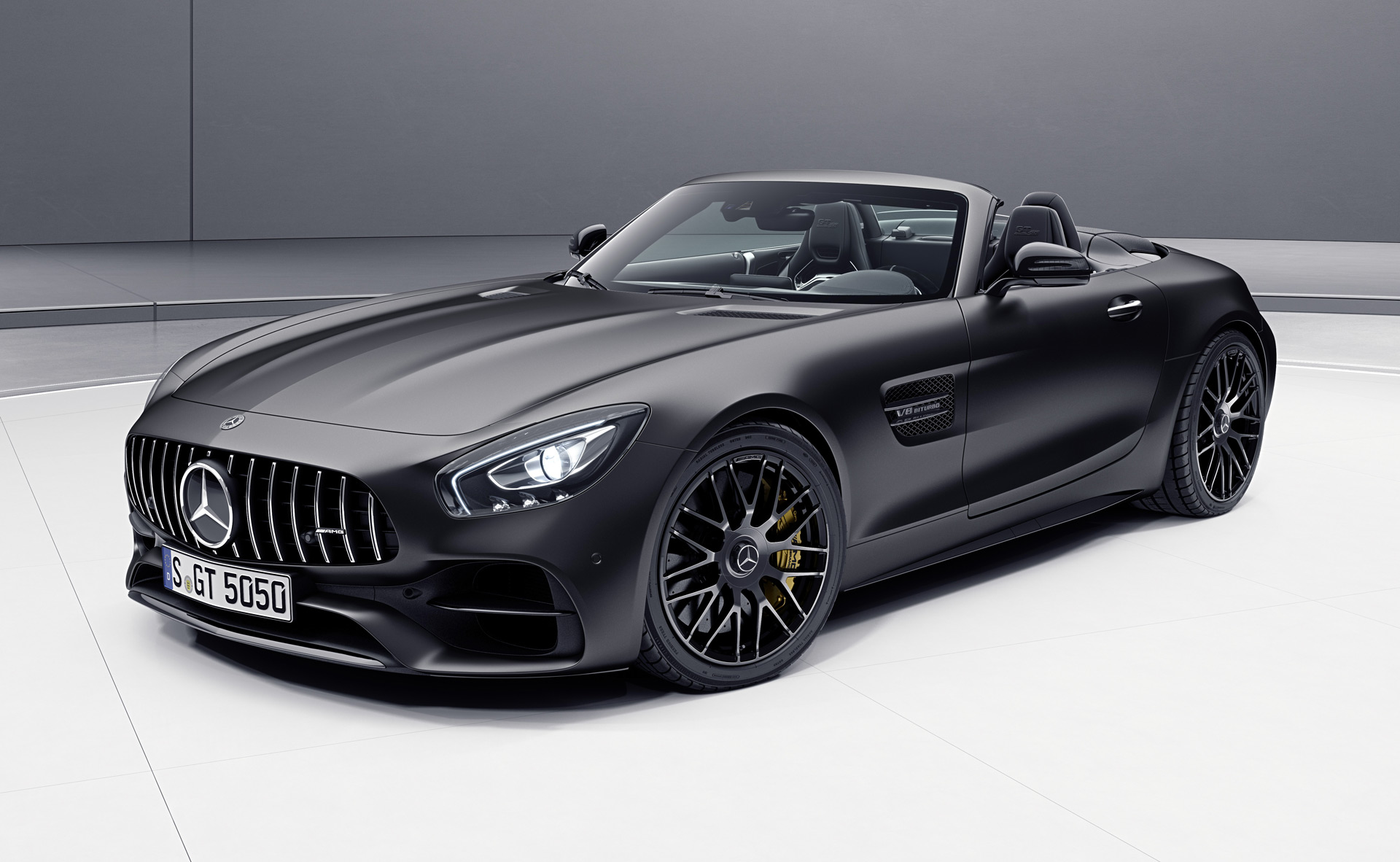 mercedes amg gt c roadster edition 50 to debut in geneva. Black Bedroom Furniture Sets. Home Design Ideas