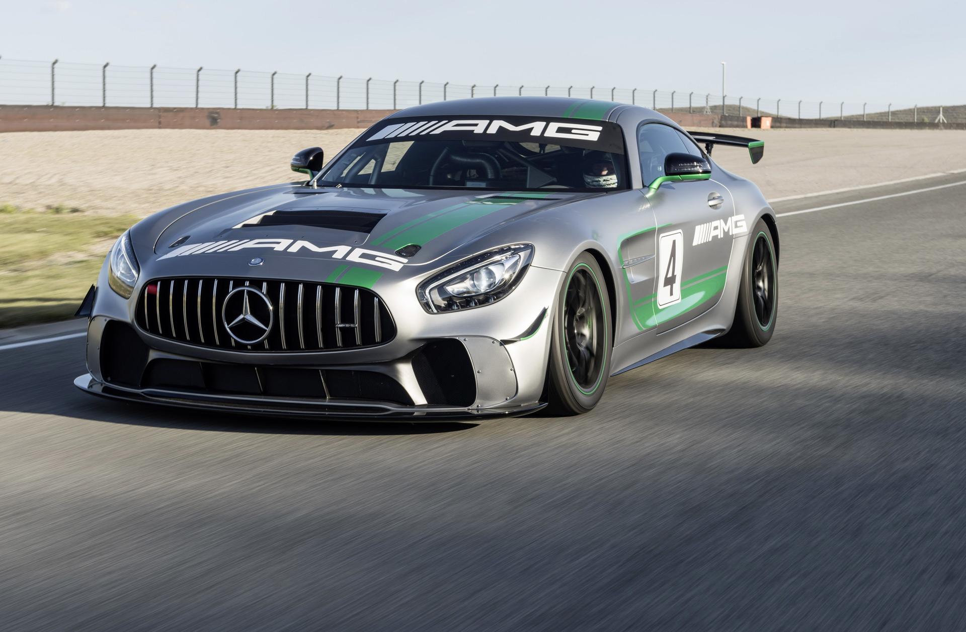 Mercedes-AMG reveals GT4 race car