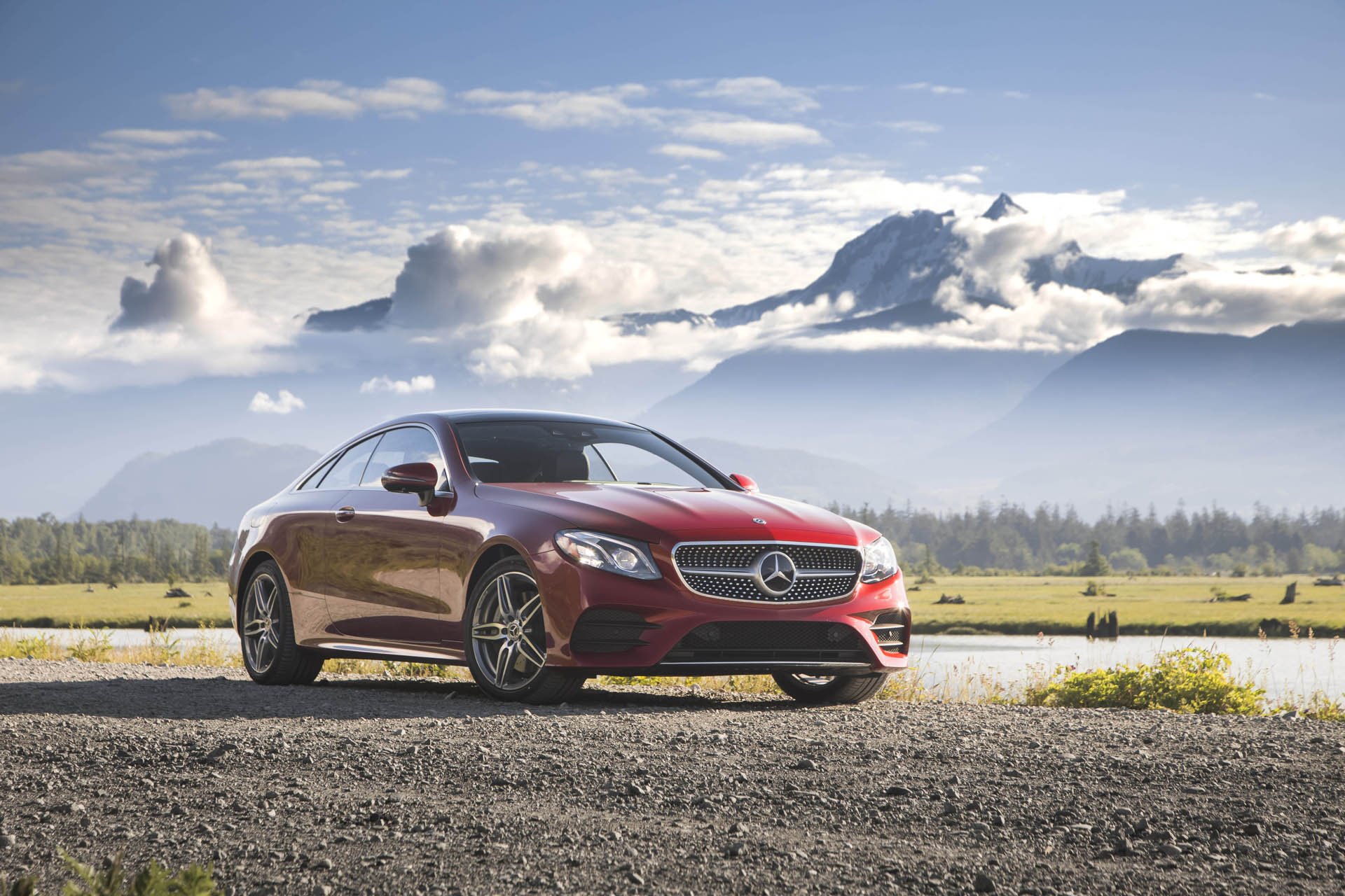 2018 mercedes benz e class coupe first drive review a grand touring value. Black Bedroom Furniture Sets. Home Design Ideas