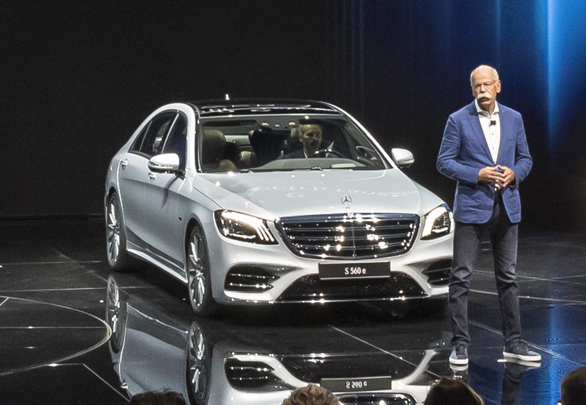 MercedesBenz Se Plugin Hybrid Joins Updated SClass Range - Mercedes car show 2018