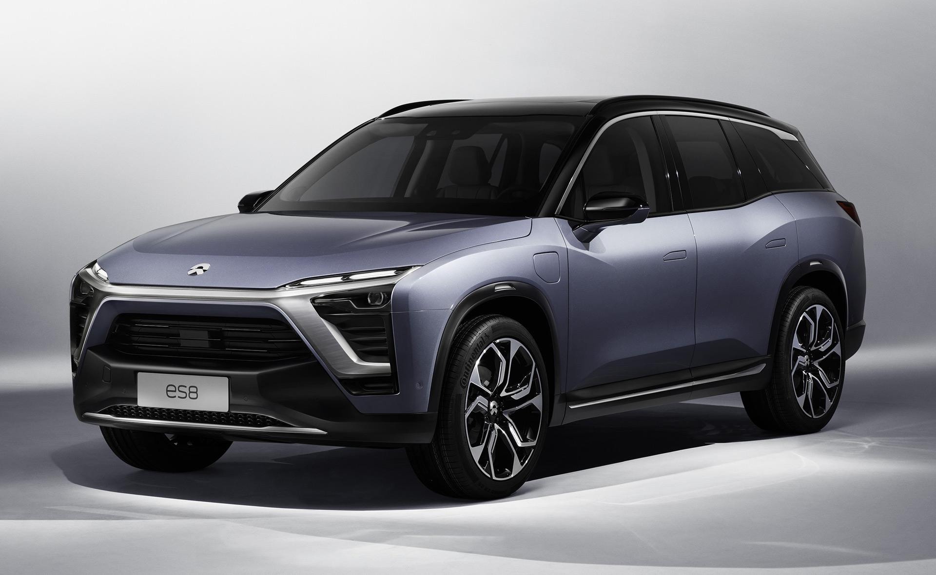 Nio ES8 Electric SUV Sales Begin In China With Tesla