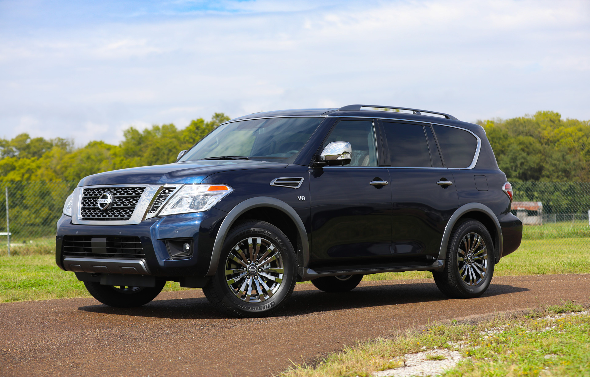 2018 nissan armada review ratings specs prices and photos the car connection. Black Bedroom Furniture Sets. Home Design Ideas