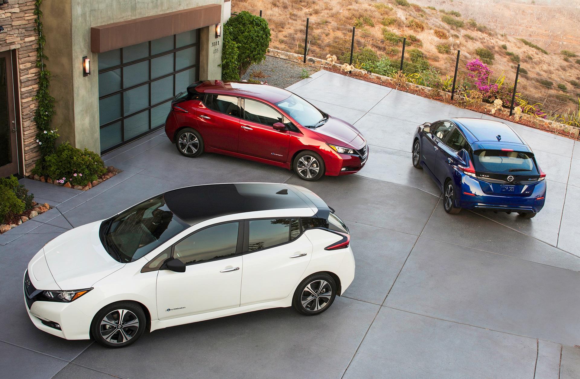 Nissan Leaf Range >> 2018 Nissan Leaf Electric Car Gets 151 Mile Epa Range Rating