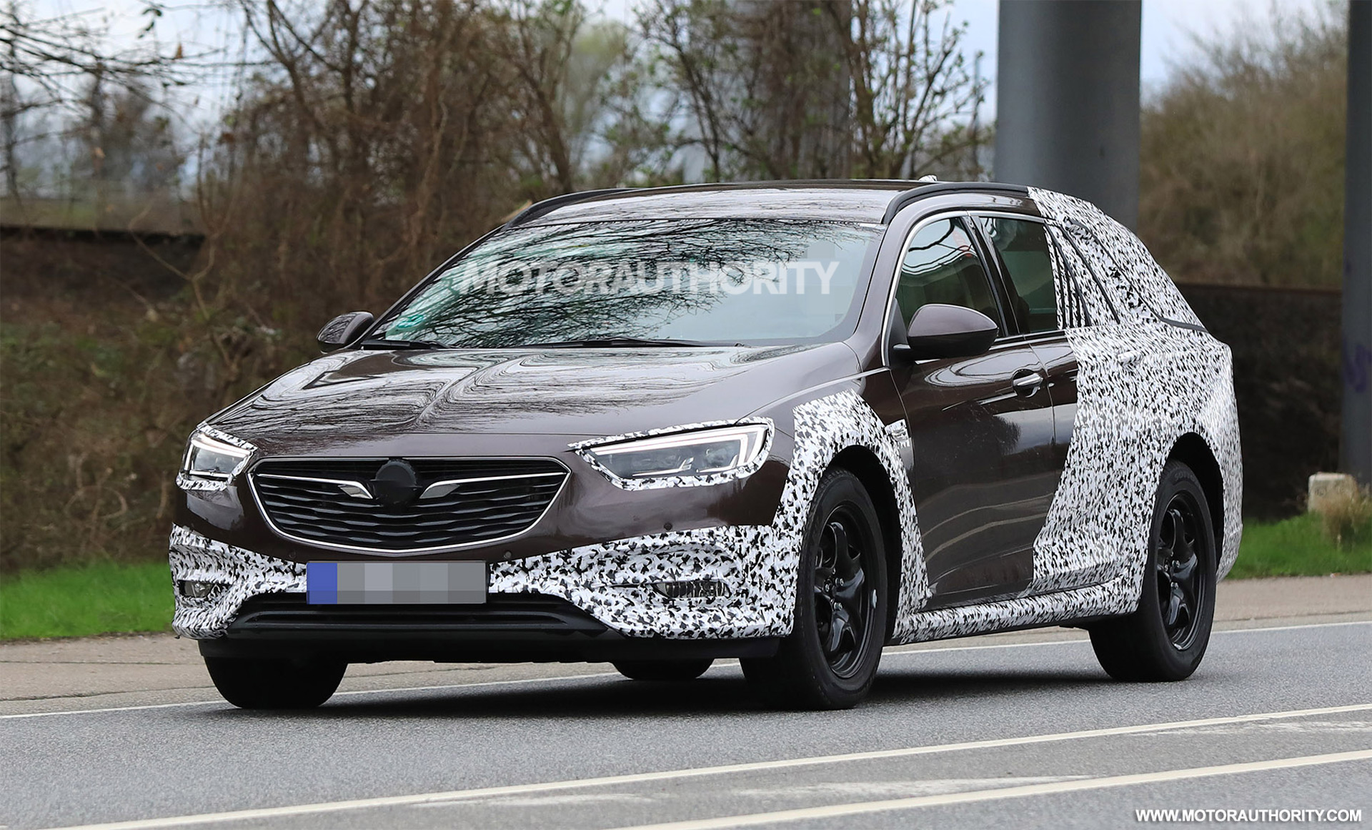 2018 Opel Insignia Country Tourer Spy Shots Sports