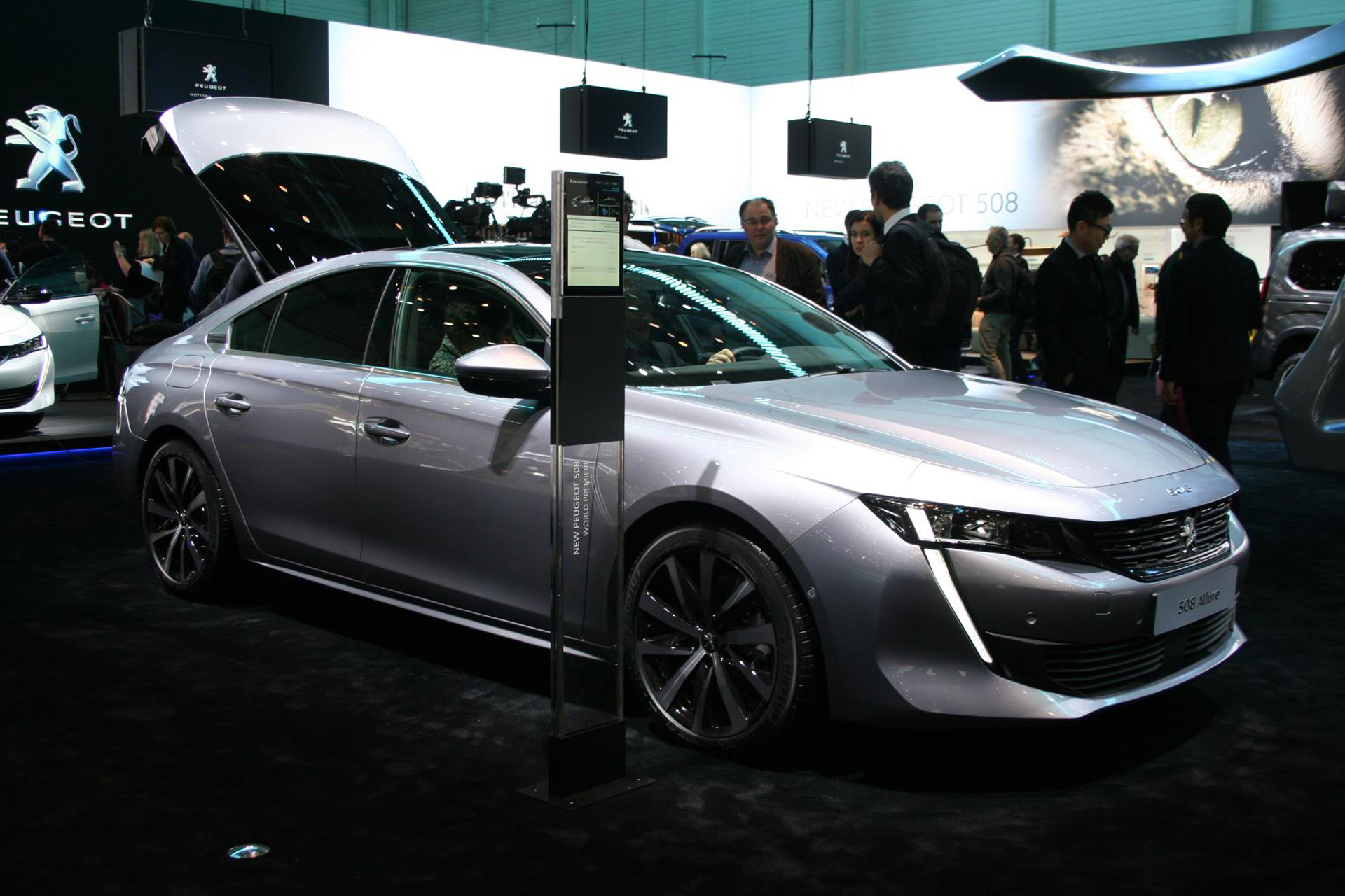 Peugeot 508 Strikes A Chord With Impressive Design