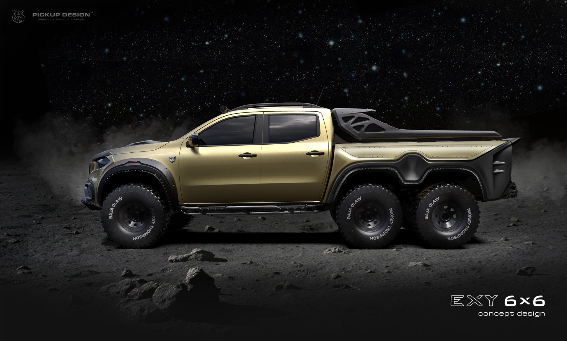 Tuner Proposes Mercedes Benz X Class 6x6 Pickup