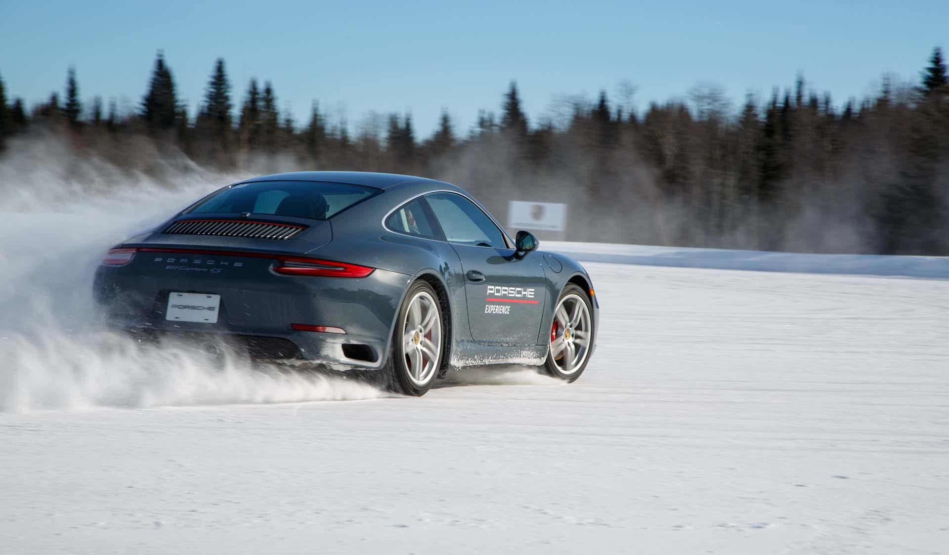 Porsche Driving School >> Learning The Unnatural At Porsche S Camp4 Winter Driving School