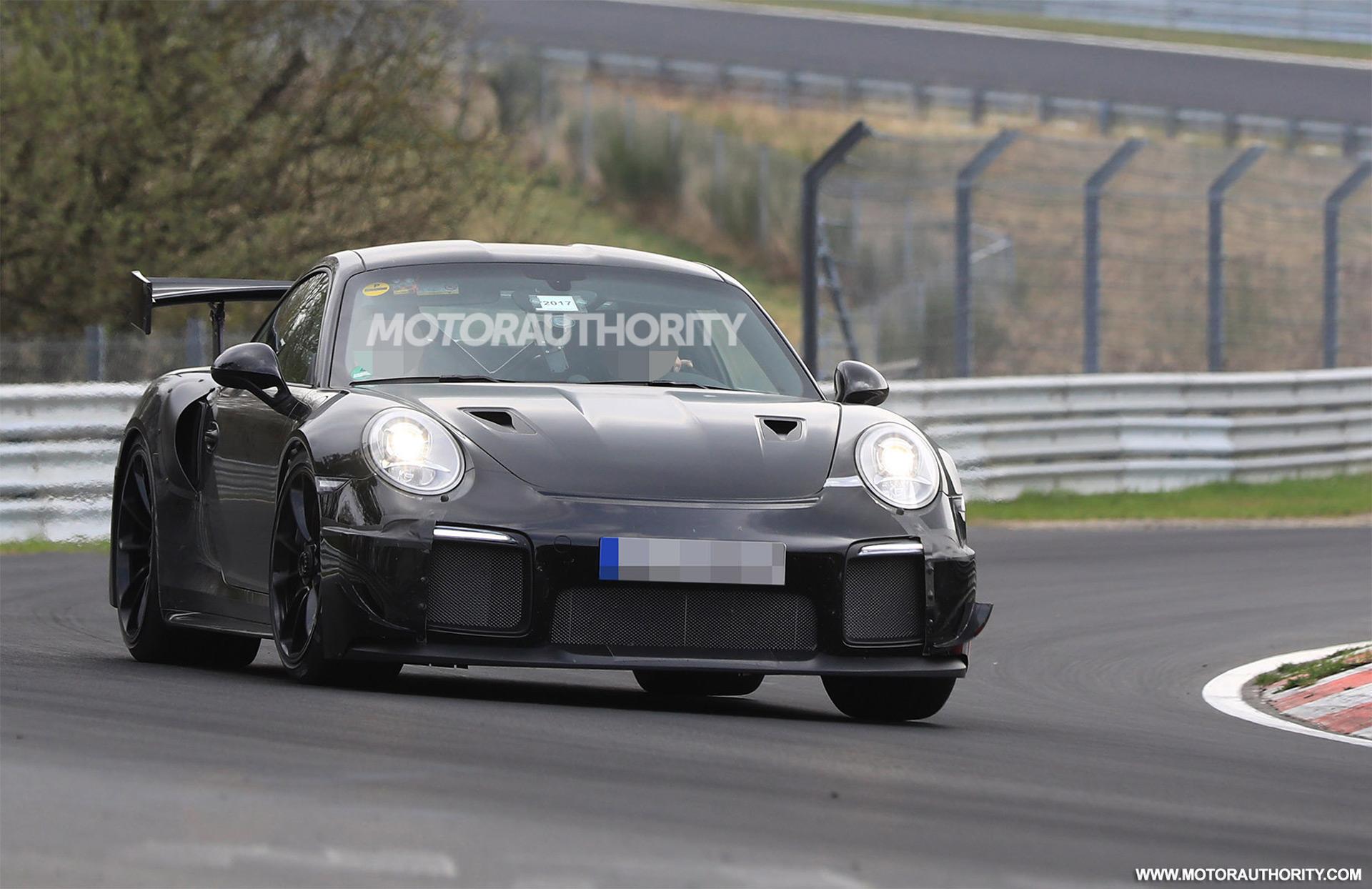 2018-porsche-911-gt2-spy-shots--image-via-s-baldauf-sb-medien_100599781_h Interesting Porsche 911 Gt2 Rs Nurburgring Lap Cars Trend