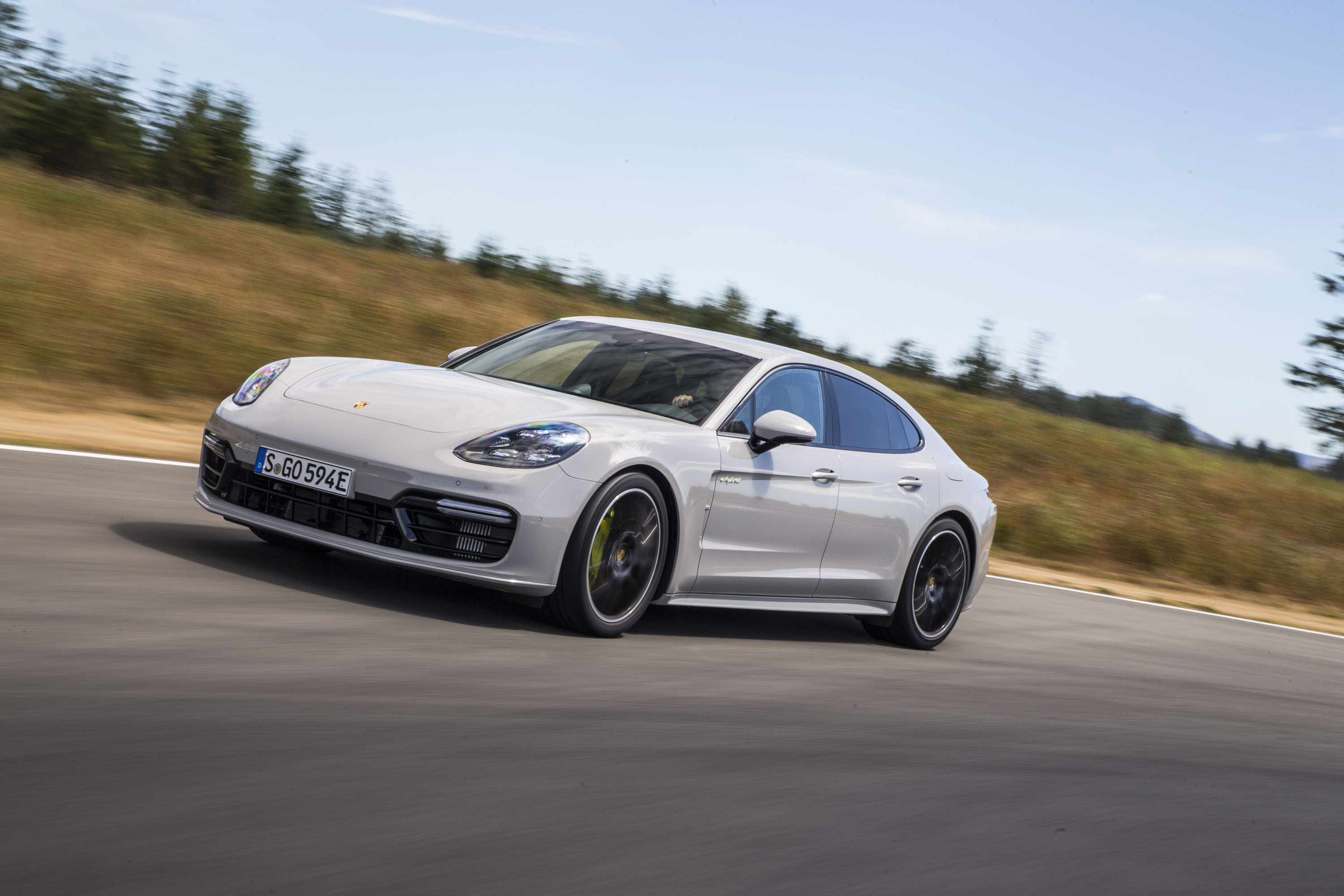 2018 Porsche Panamera Turbo S E Hybrid First Drive Review The 918 Spyder Distilled