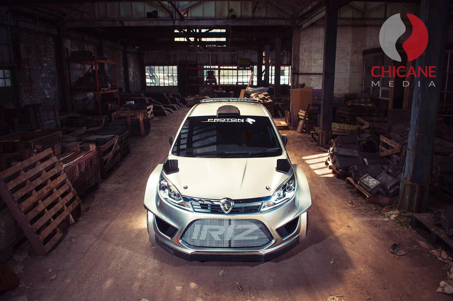 Proton reveals rally car