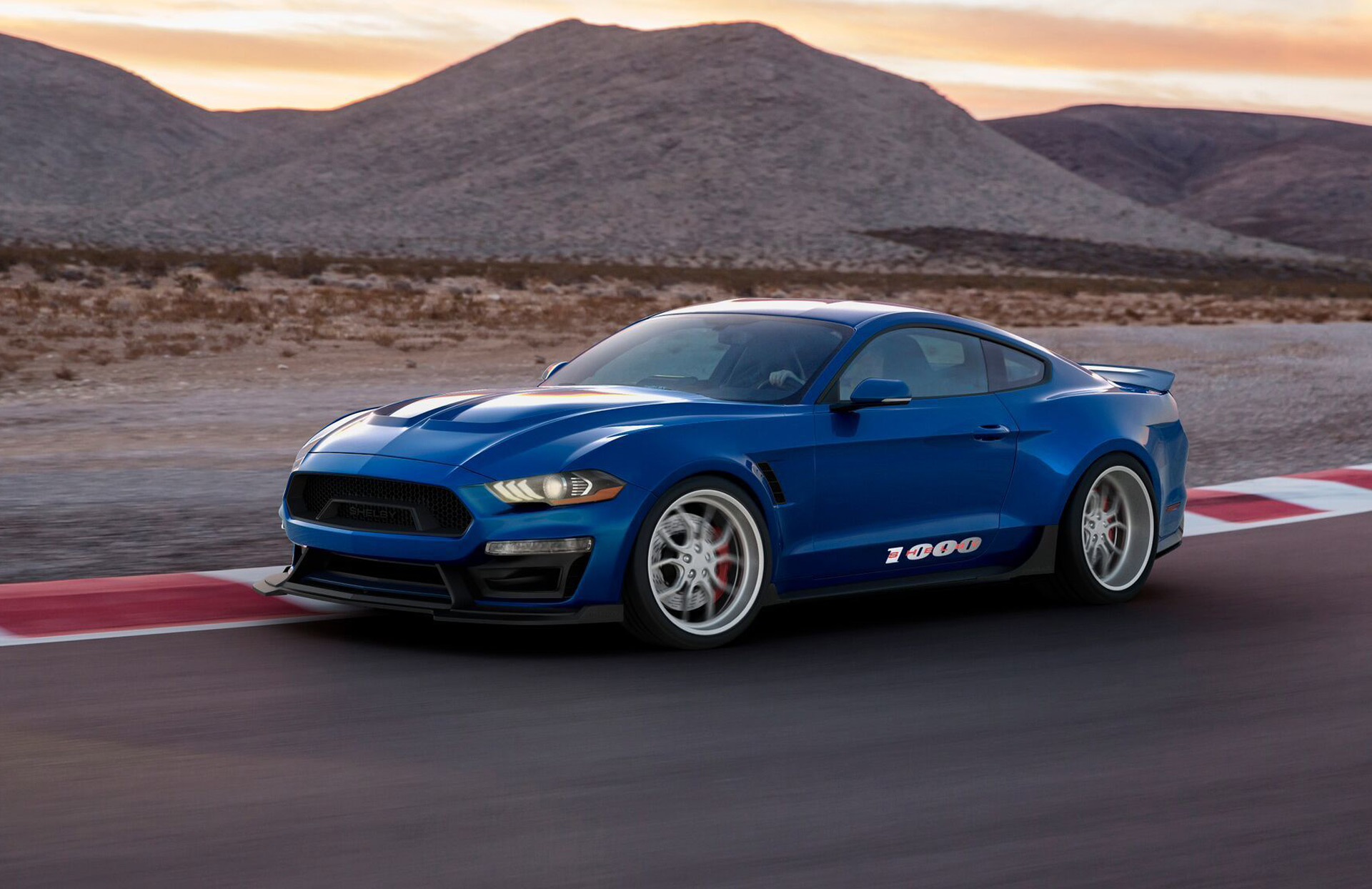 1 000 Horsepower Shelby Mustang Debuts At 2017 Sema Show