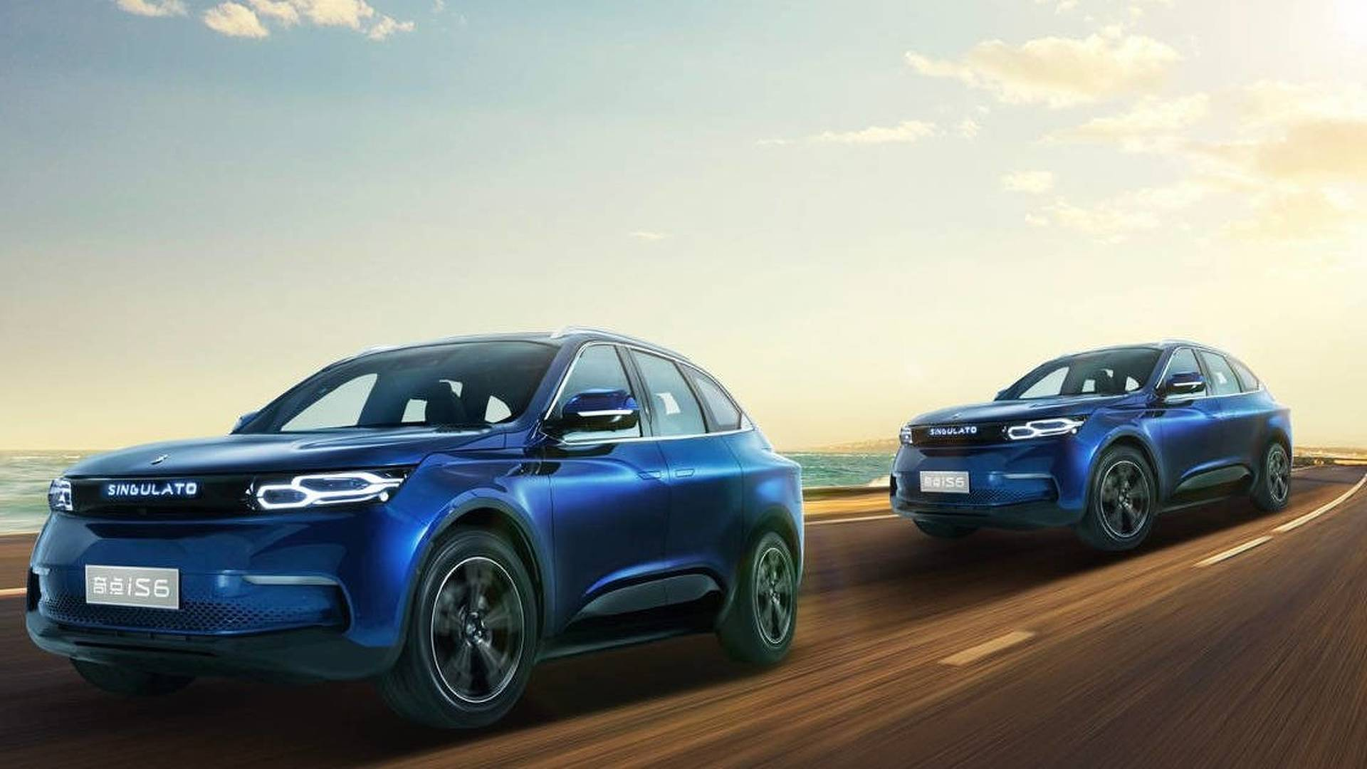 Chinese Electric Car Startup Singulato Reveals IS SUV - Audi is6