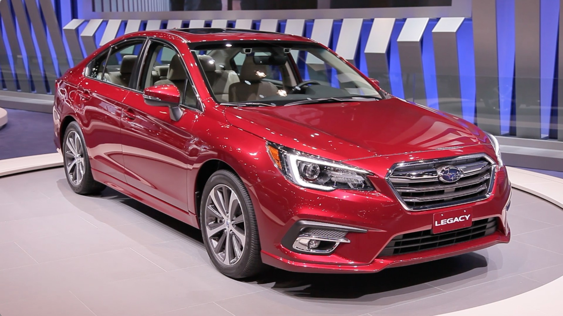 2018 Subaru Legacy video preview