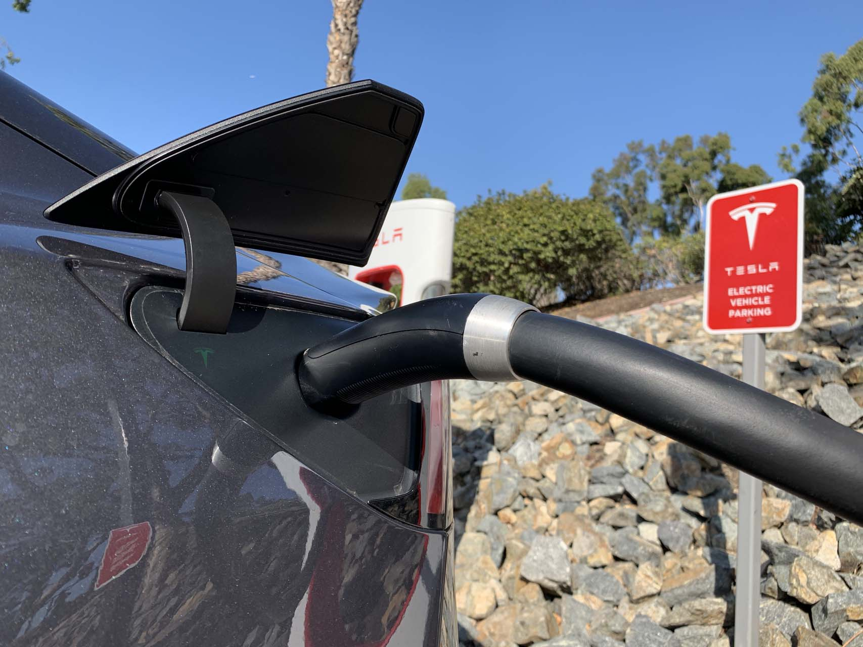 Tesla Model 3 could charge faster in Europe, charging