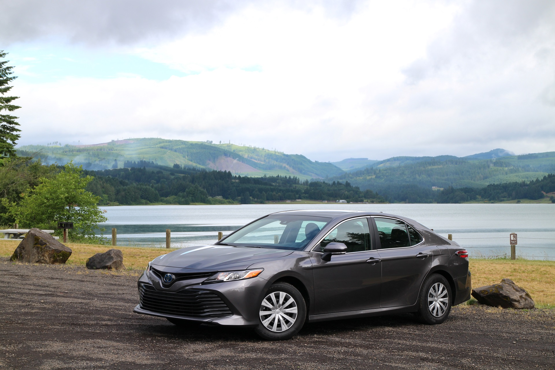 2018 Toyota Camry Hybrid first drive