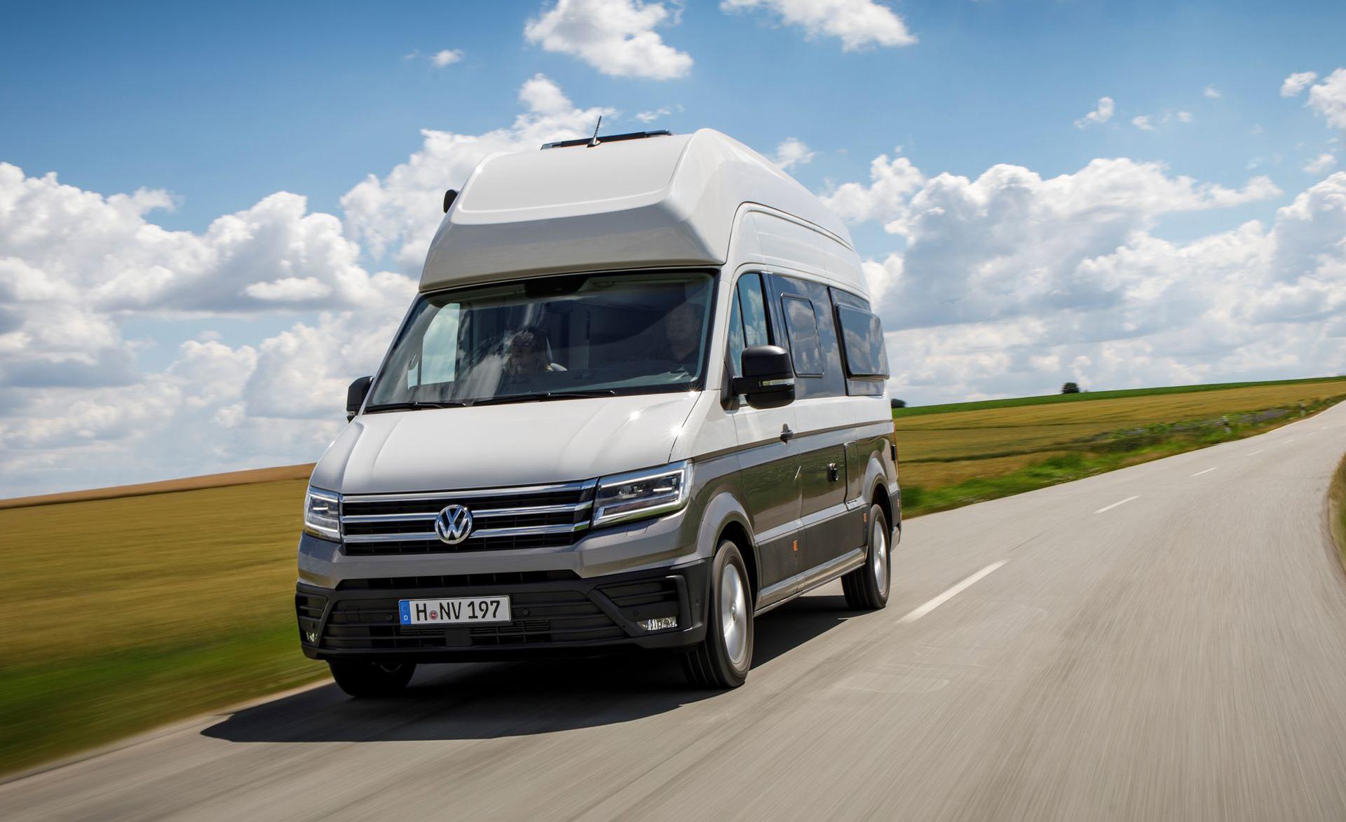 Volkswagen Grand California Comes With Bathroom Bunk Bed