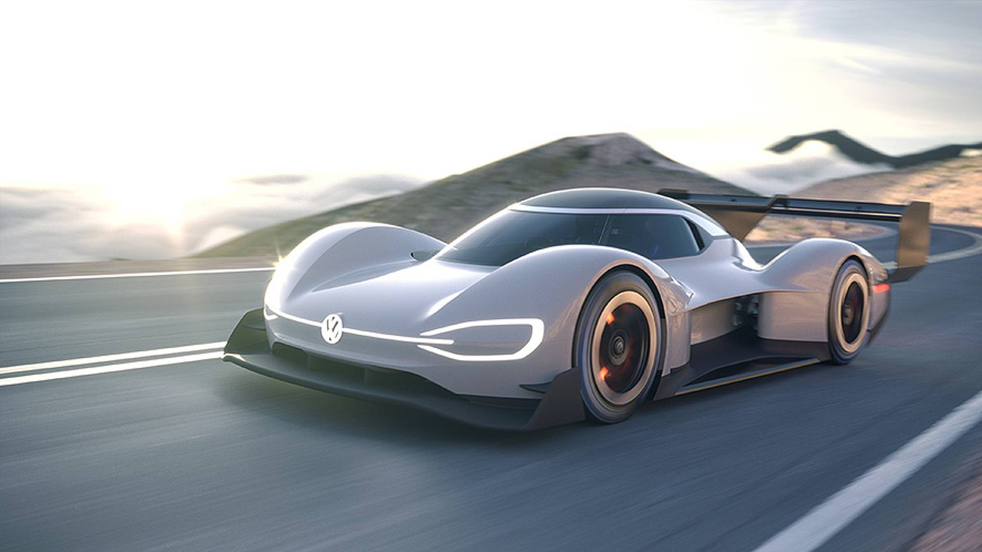 vw to return to pikes peak with id r electric racer. Black Bedroom Furniture Sets. Home Design Ideas