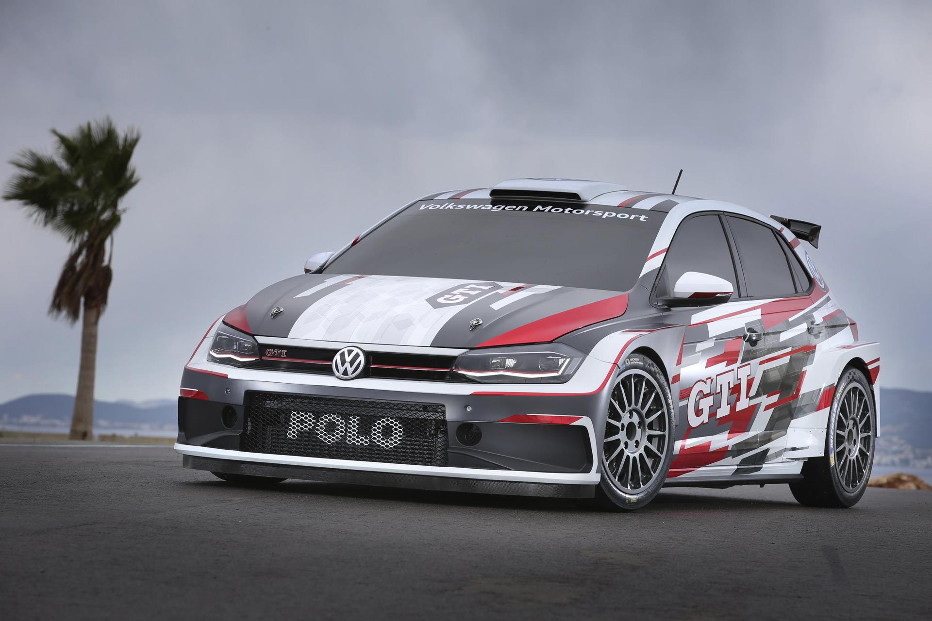 Volkswagen Reveals Polo Gti R5 Rally Car
