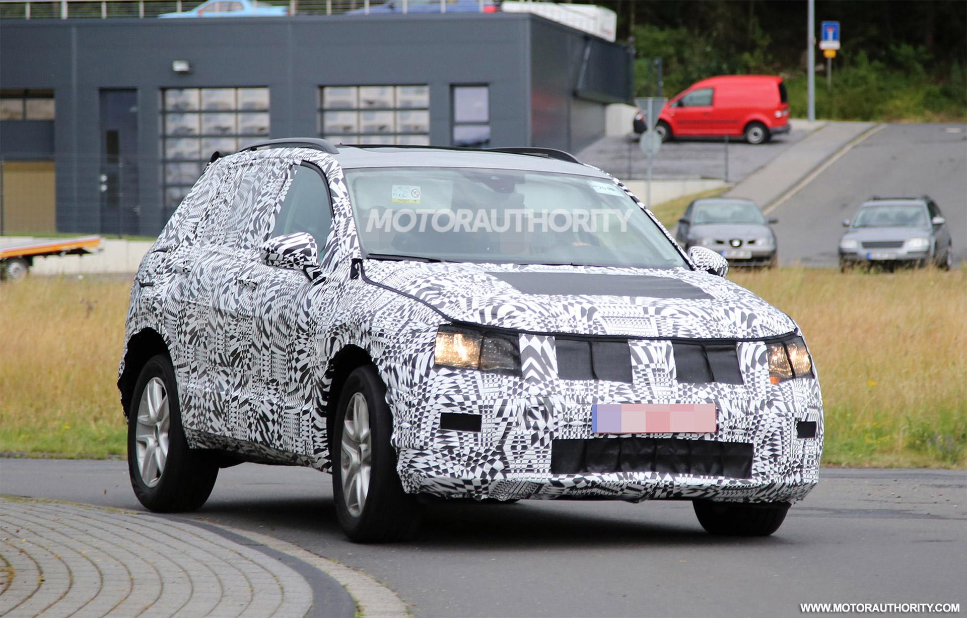 2018 Volkswagen Tiguan Spy Shots And Video