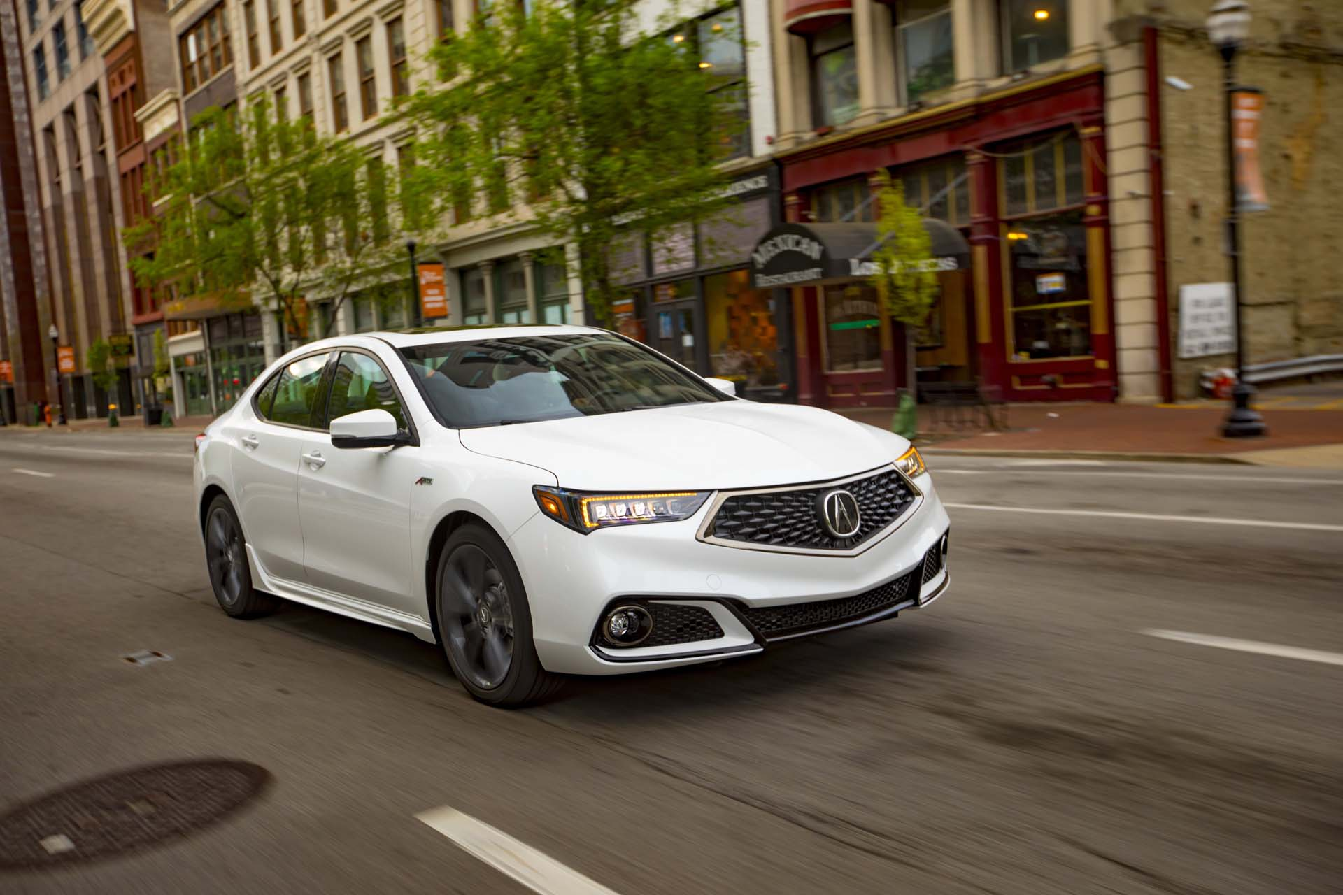 2019 Acura Tlx Review Ratings Specs Prices And Photos The Car Connection