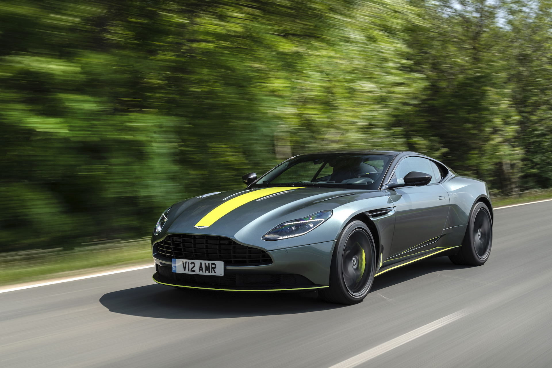 2019 aston martin db11 amr first drive review: continuous