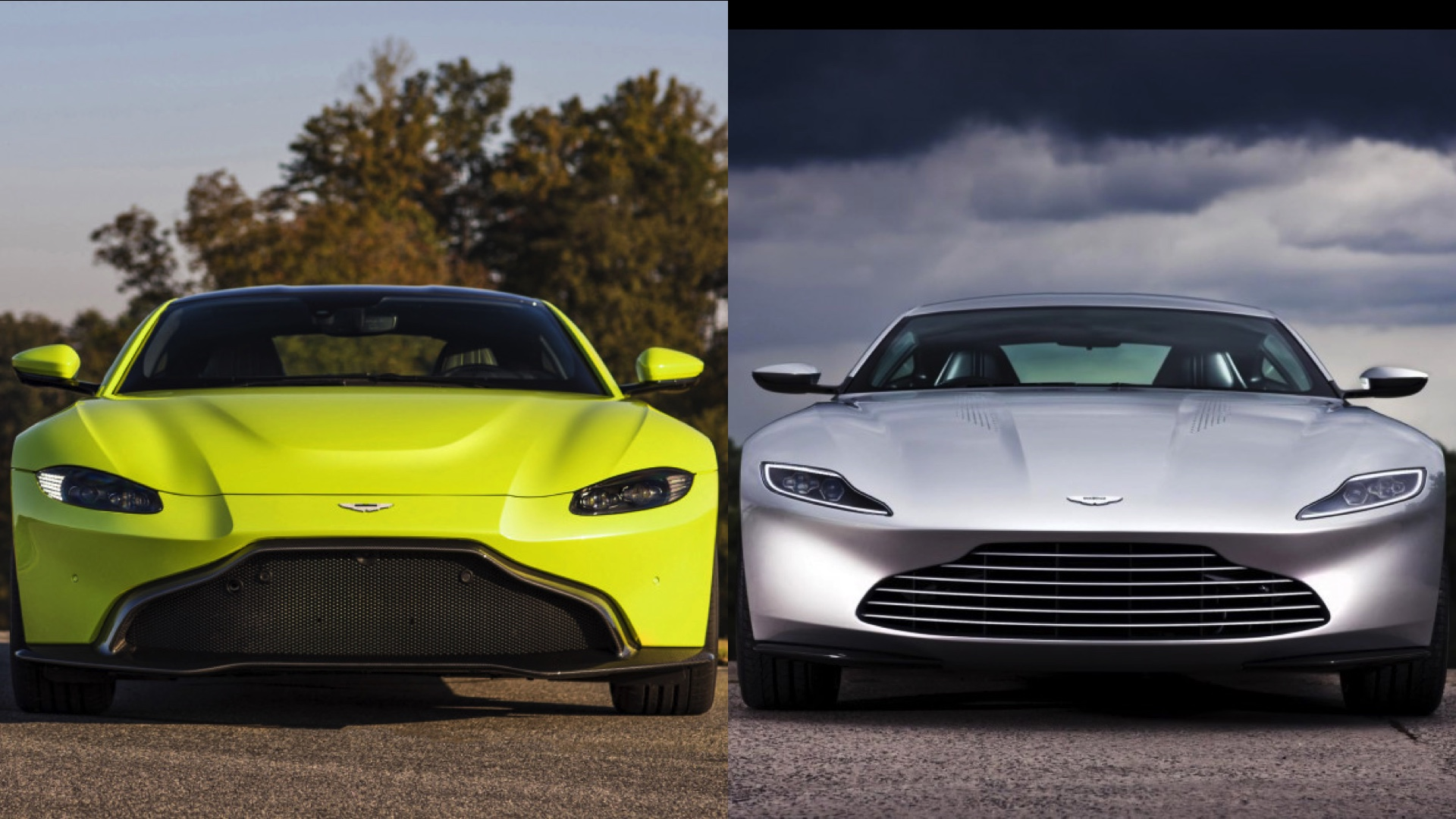 james bond 39 s aston martin db10 was based off the 2019 vantage. Black Bedroom Furniture Sets. Home Design Ideas