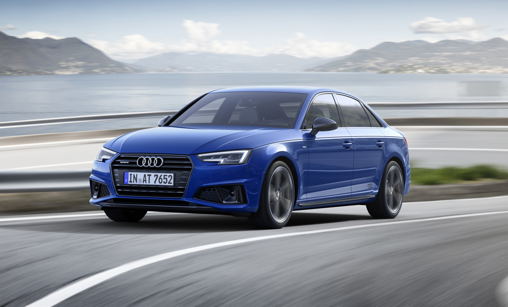 Sharper Look For 2019 Audi A4