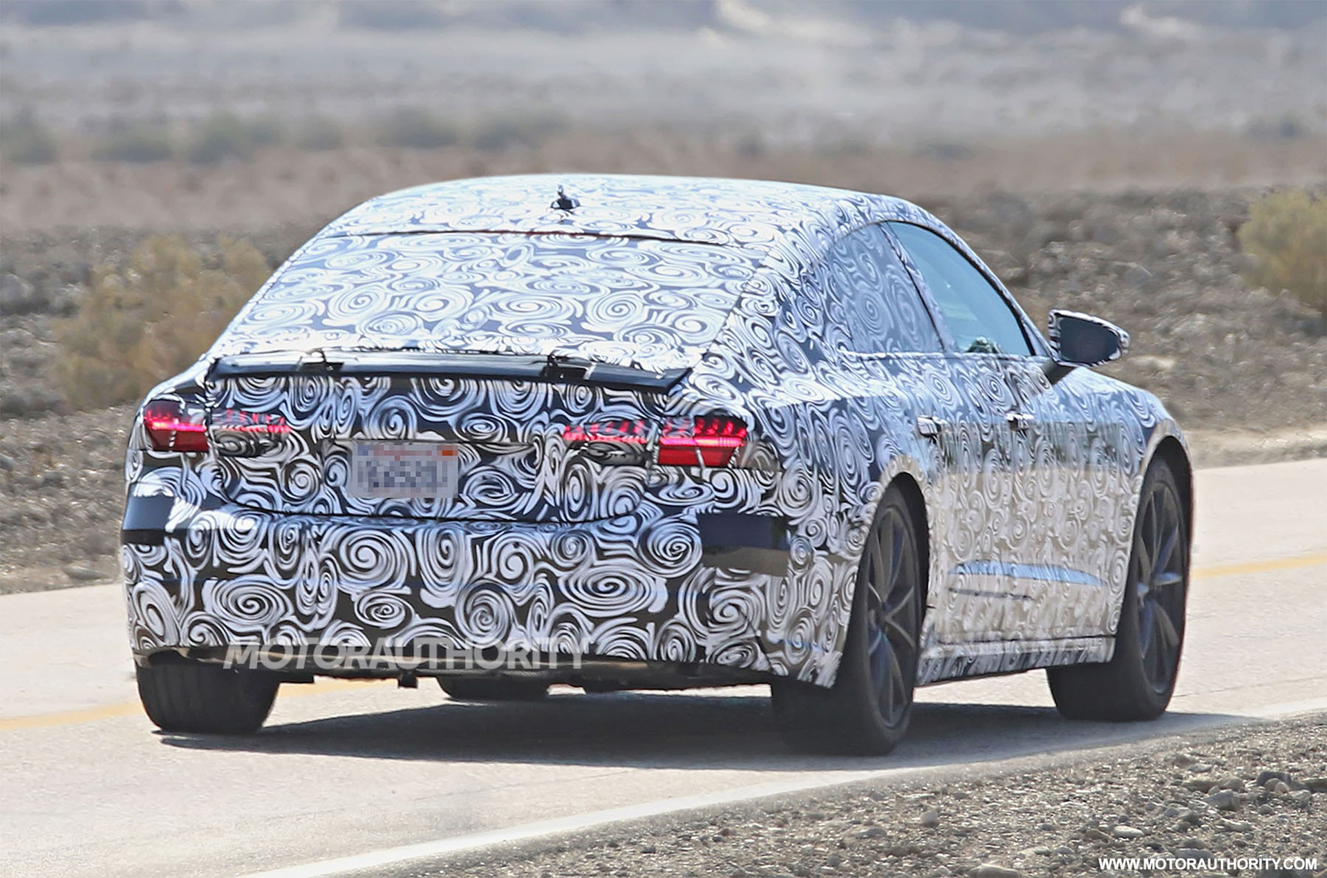 Is Audi Testing An Electric A7