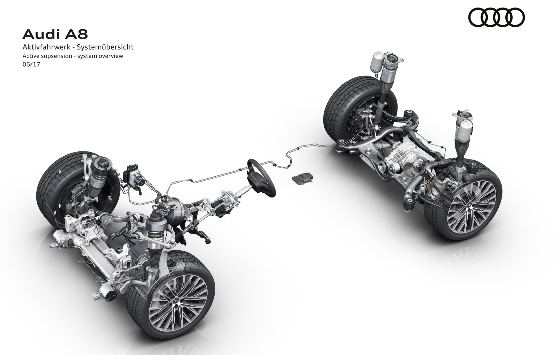 Audi Reveals New A8 S Chassis Technology