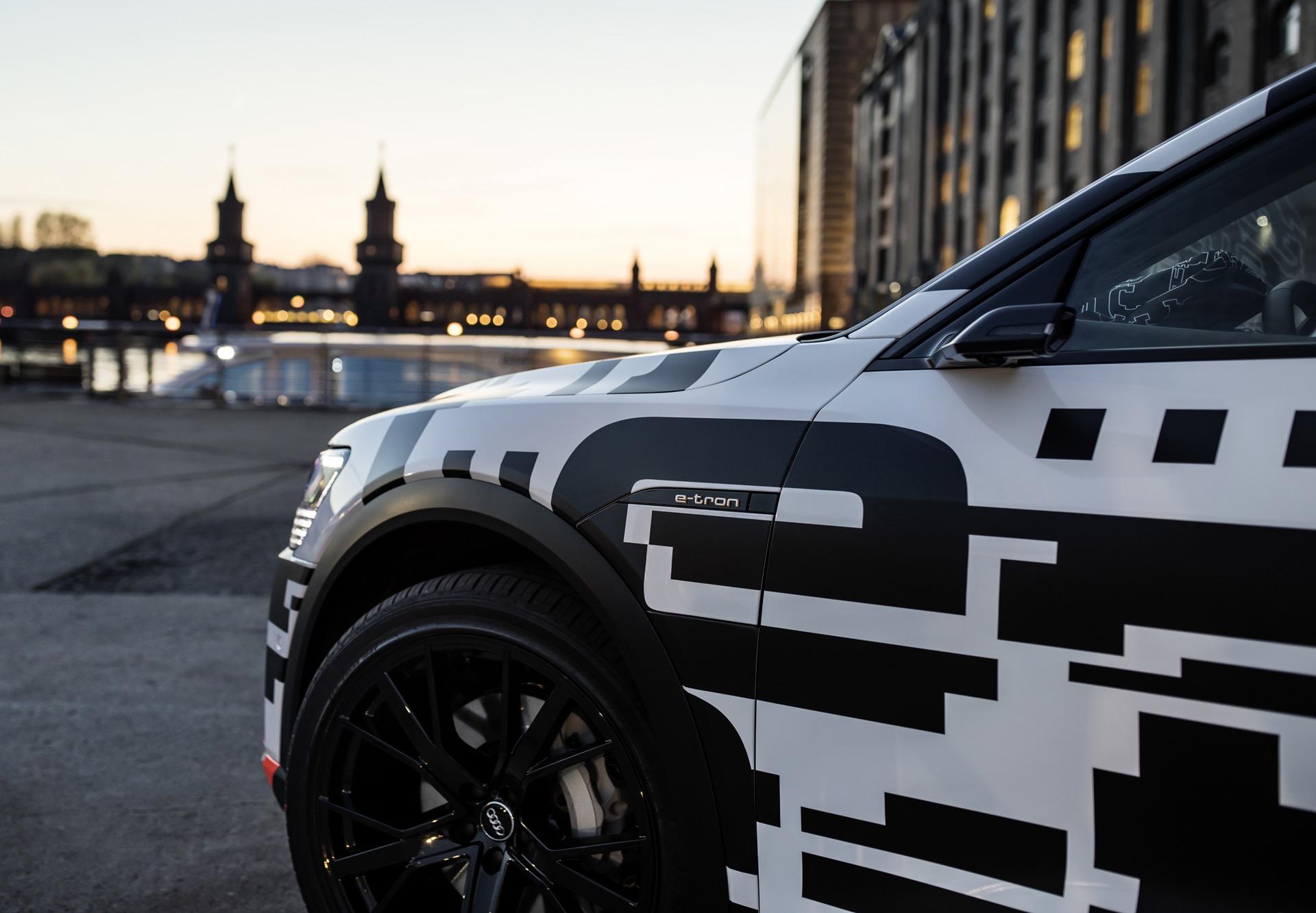 Camera Mirrors Could Add Range To Audi E Tron Electric Suv