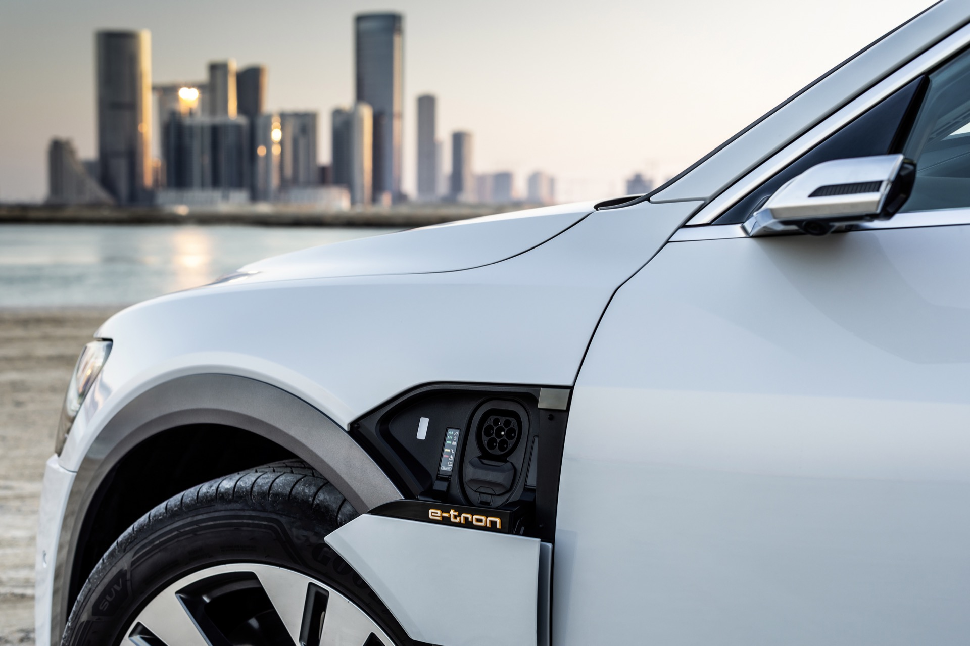 Audi e-tron electric SUV buyers can leave the charger installation to Amazon