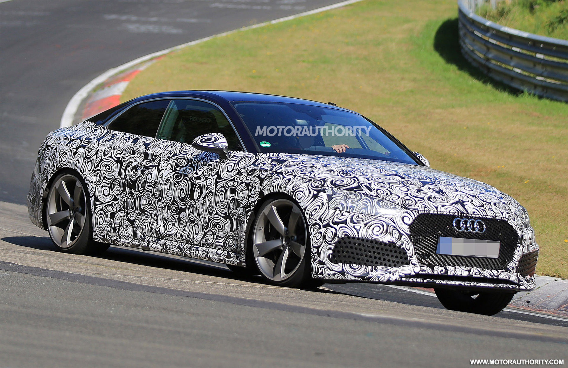 Audi RS Spy Shots And Video - Audi rs