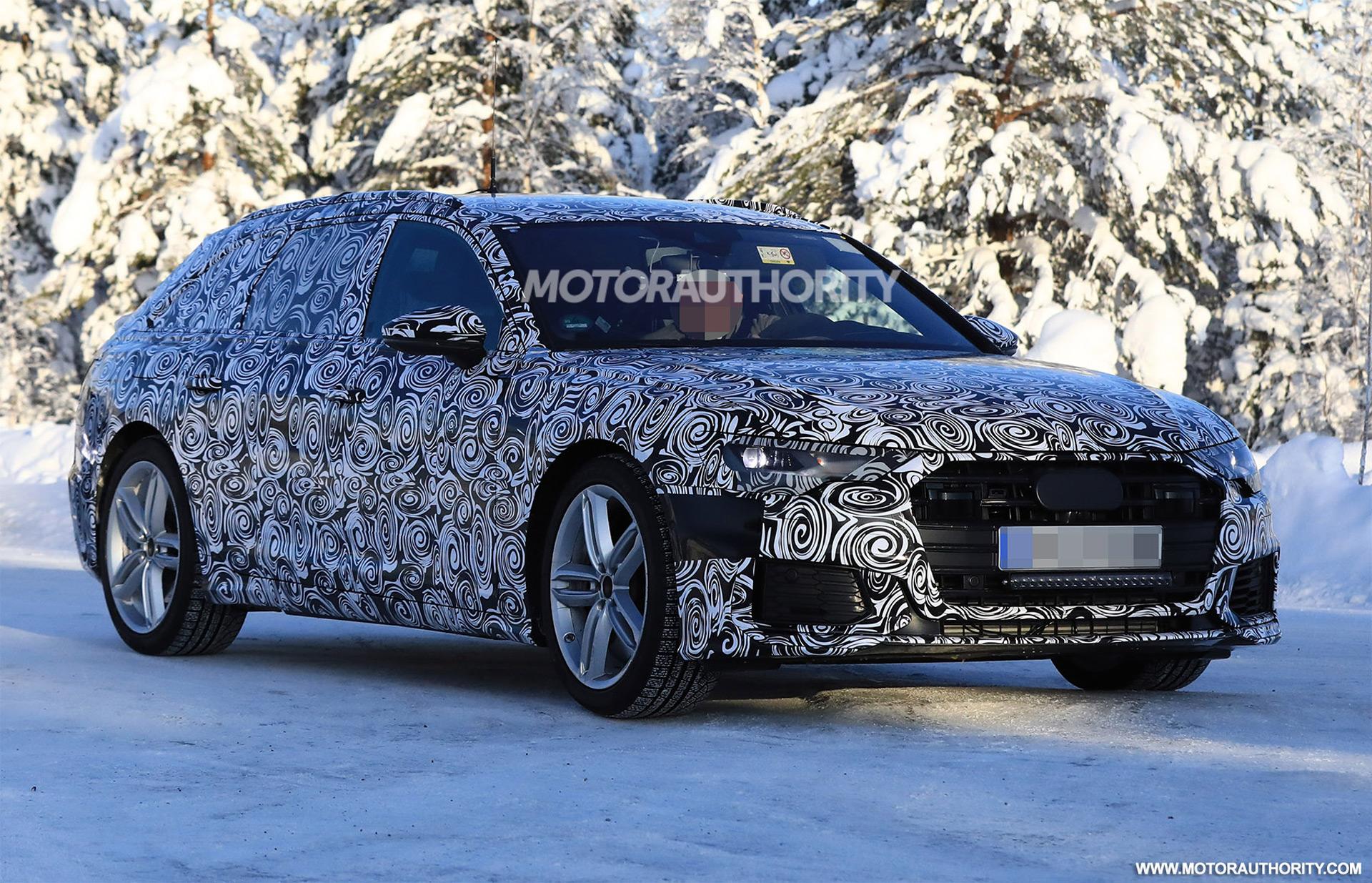 2019 audi s6 avant spy shots for Audi a6 avant interieur