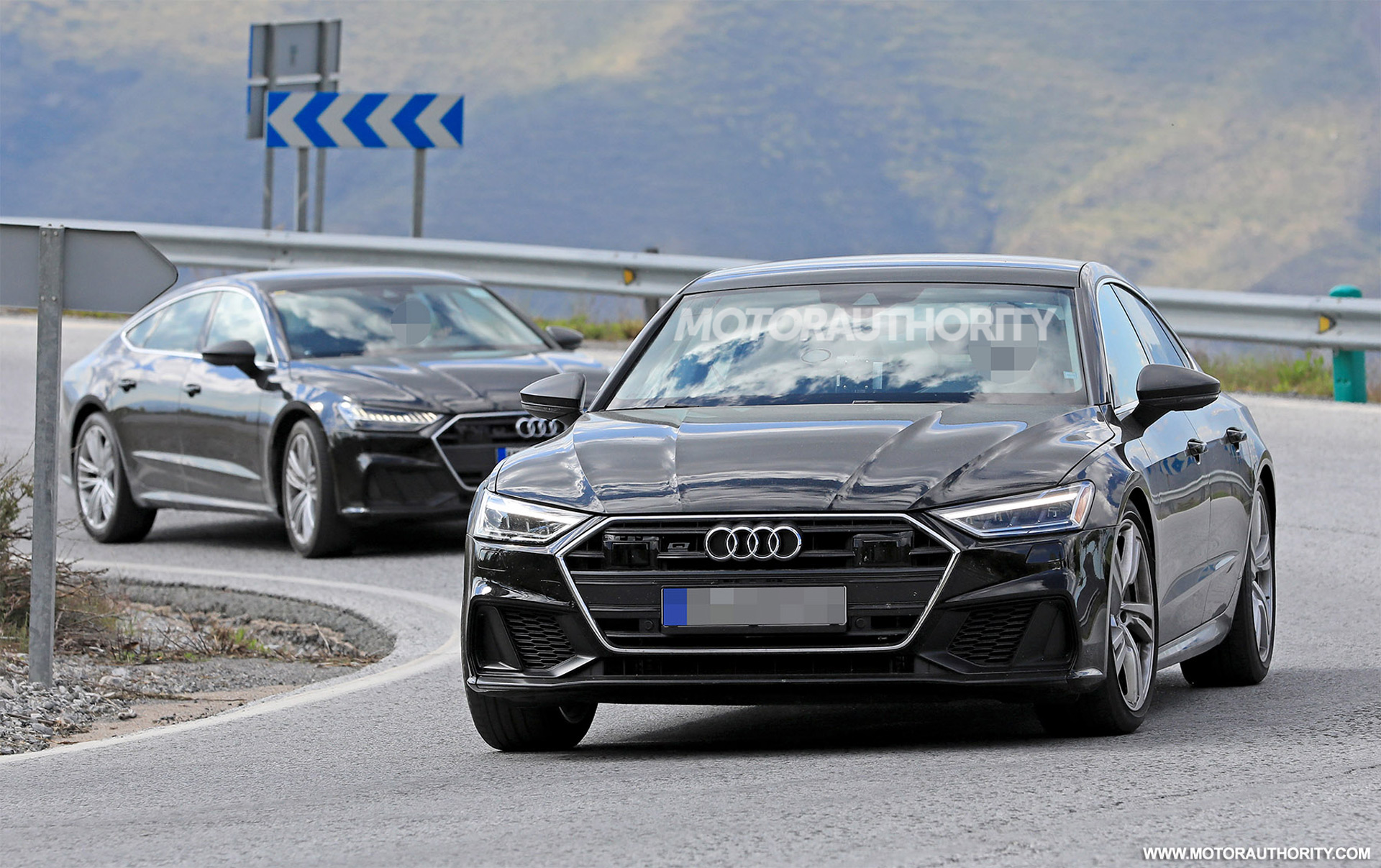 ענק 2019 Audi S7 spy shots and video SD-38
