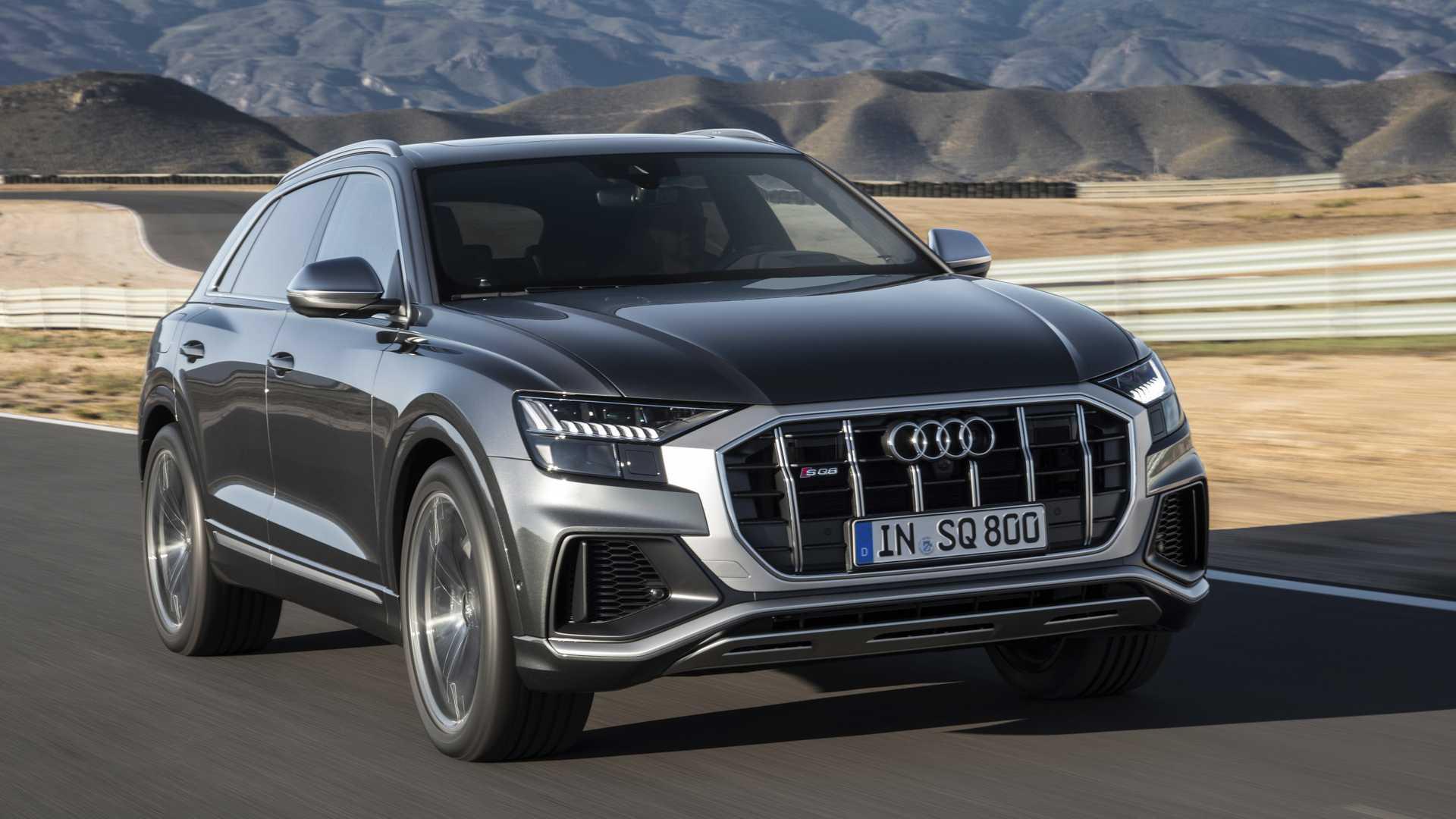 2019 Audi Sq8 Revealed With Diesel V 8