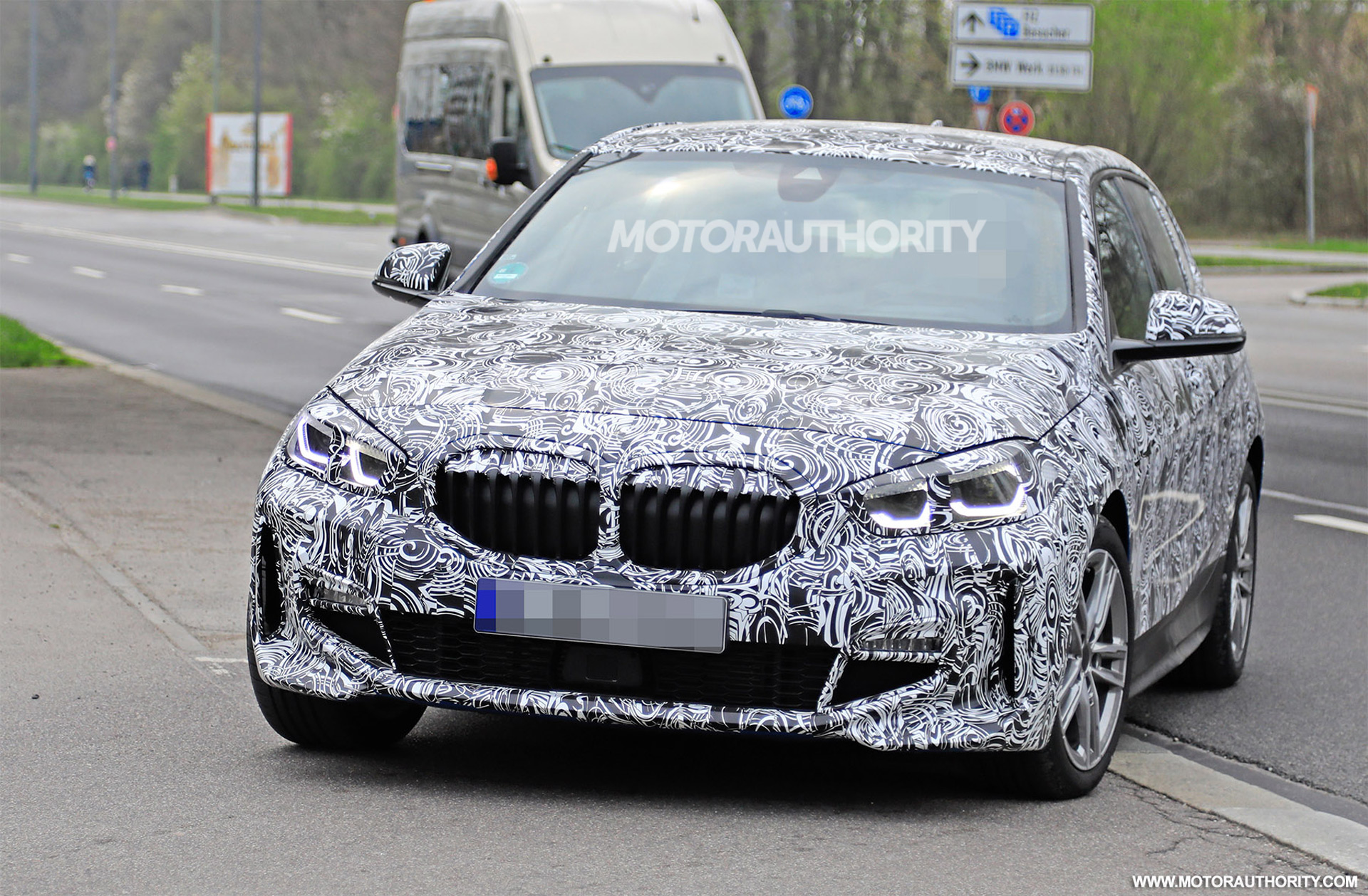 2019 Bmw 1 Series Hatchback Spy Shots And Video
