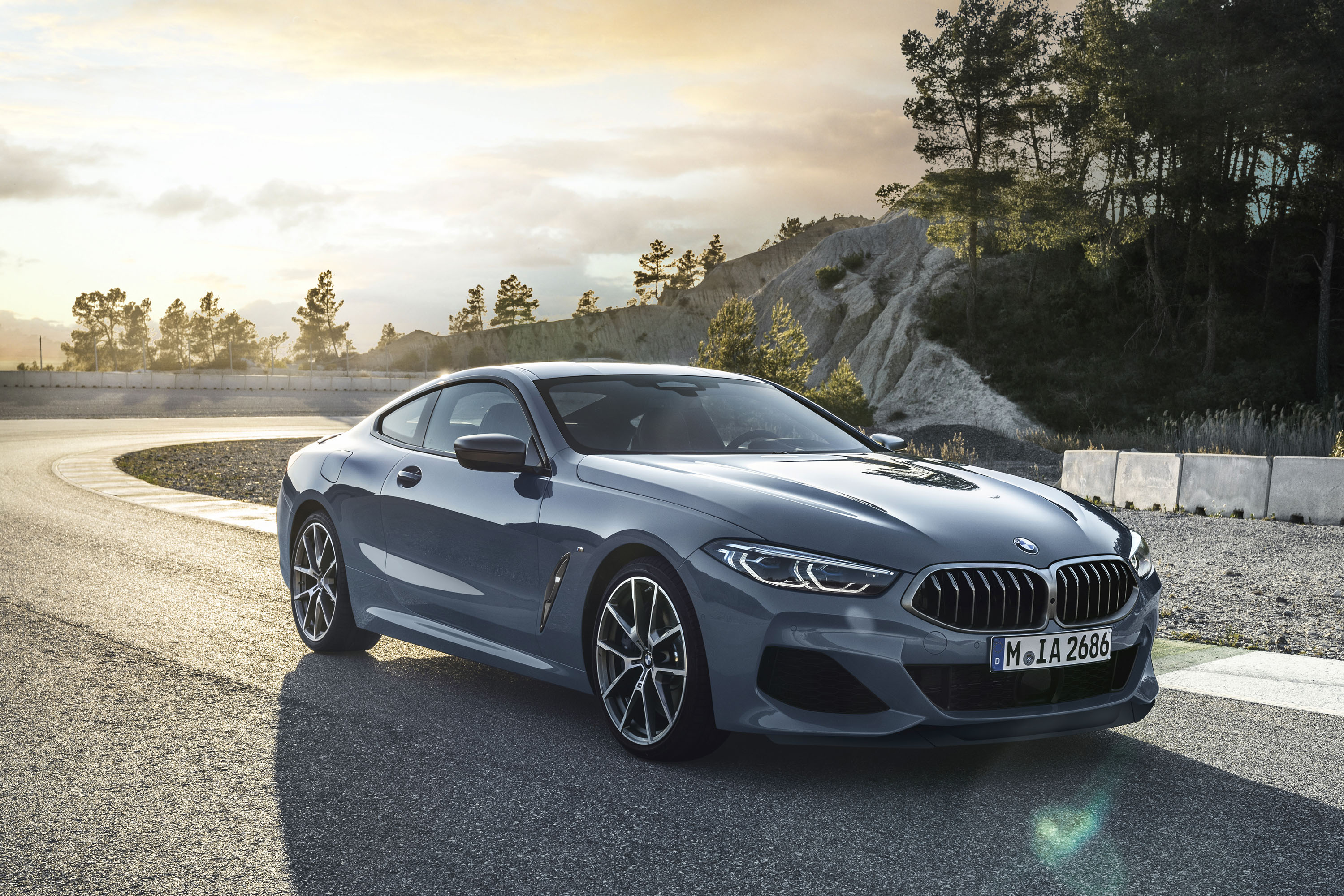2019 bmw 8 series coupe return of the bodacious 39 bahnstormer. Black Bedroom Furniture Sets. Home Design Ideas