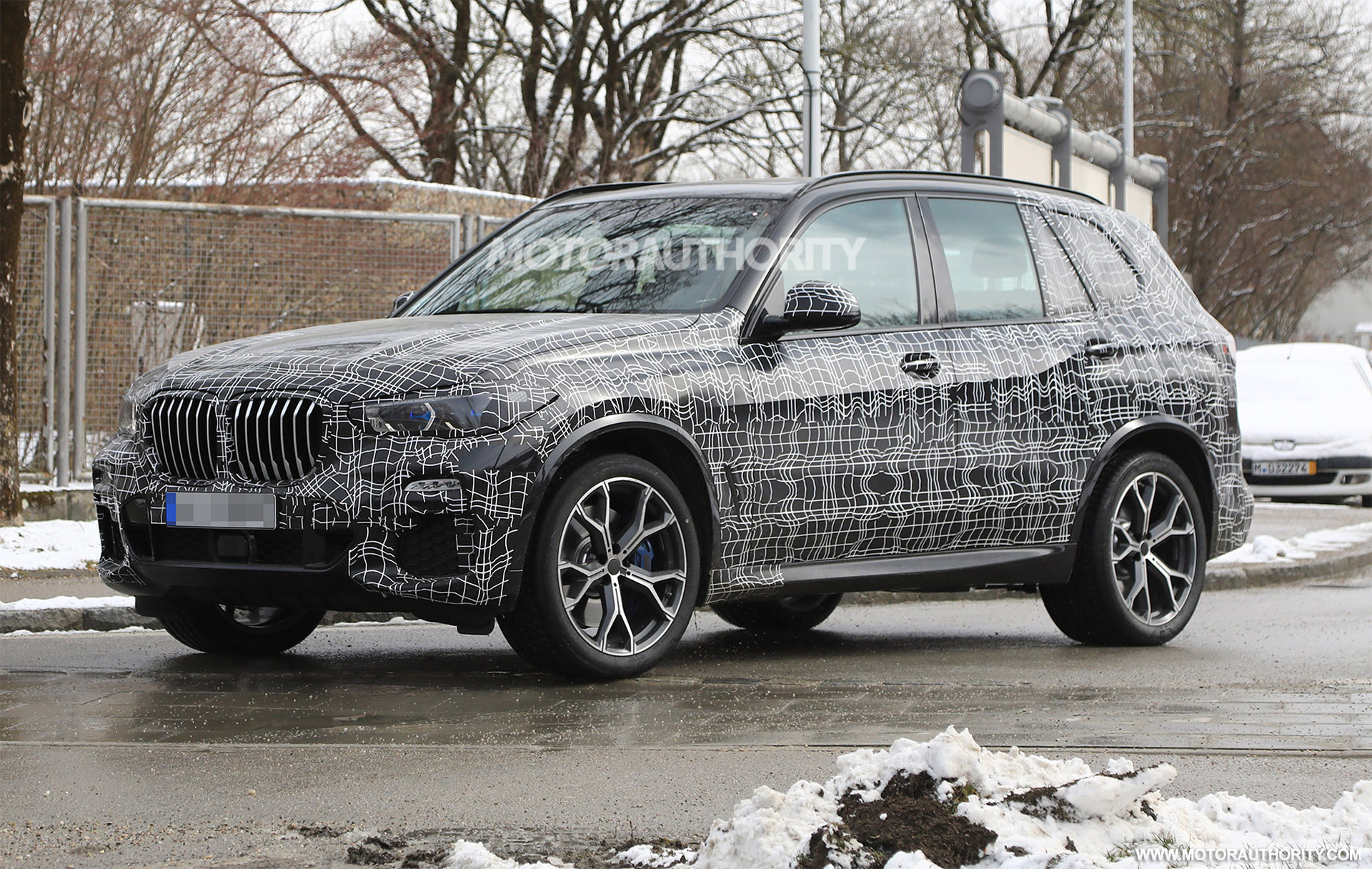 2019 bmw x5 spy shots and video. Black Bedroom Furniture Sets. Home Design Ideas