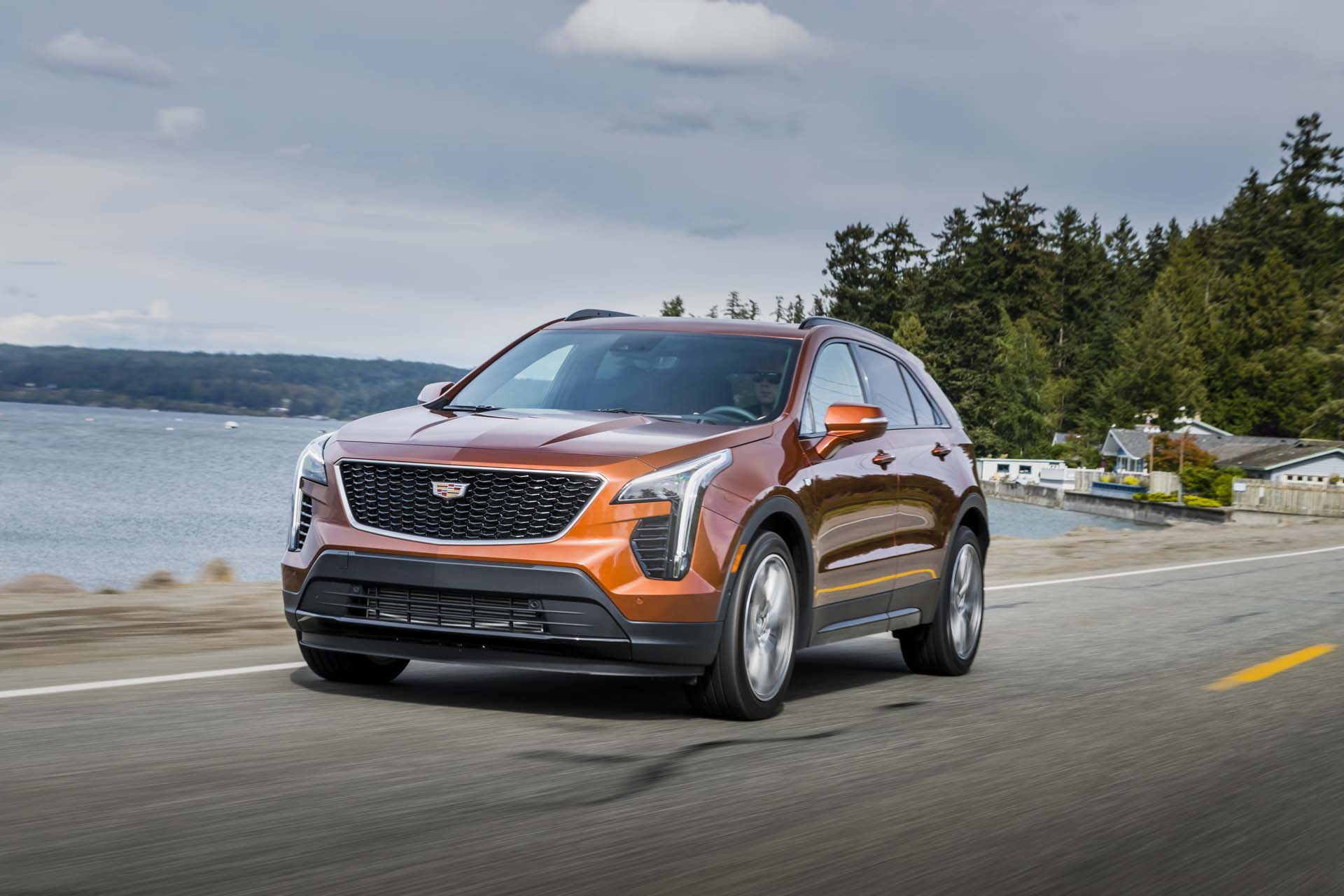 2019 Cadillac Xt4 First Drive Review Luxury Crossover Suv Finally Shows Up Off
