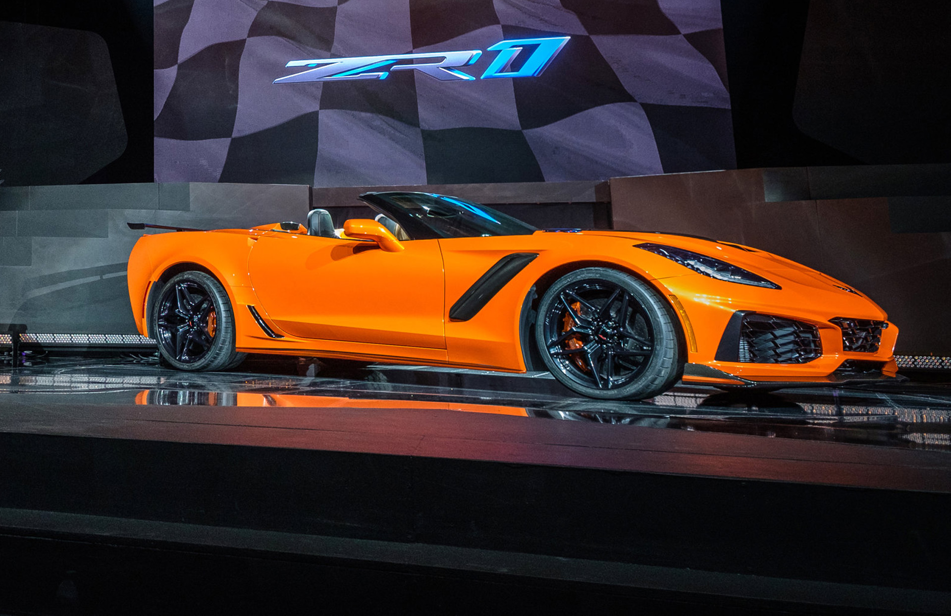 2019 Chevy Corvette Zr1 Actually Wasn T Planned