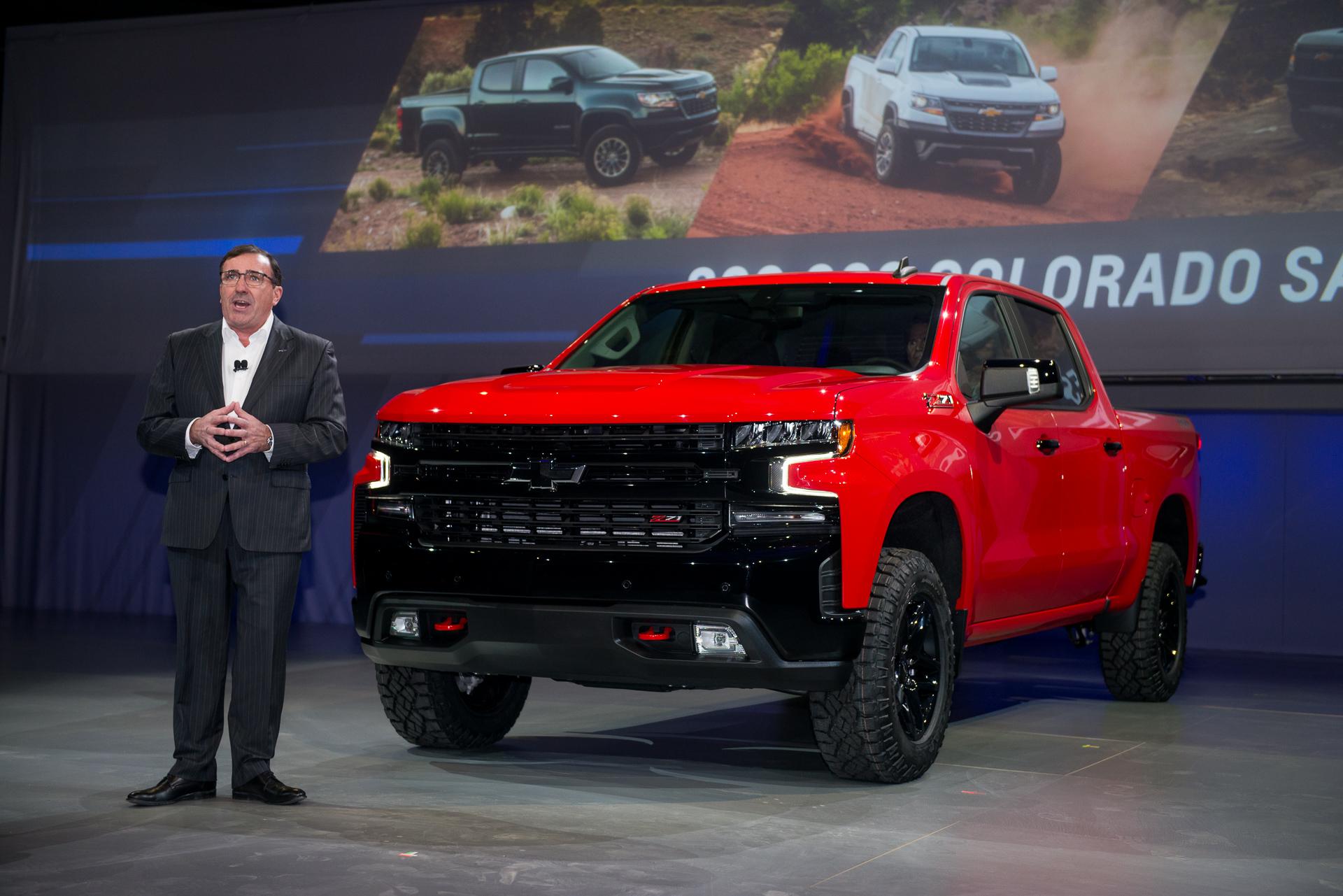 2019 Chevrolet Silverado 1500 Spy Shots Motor Authority