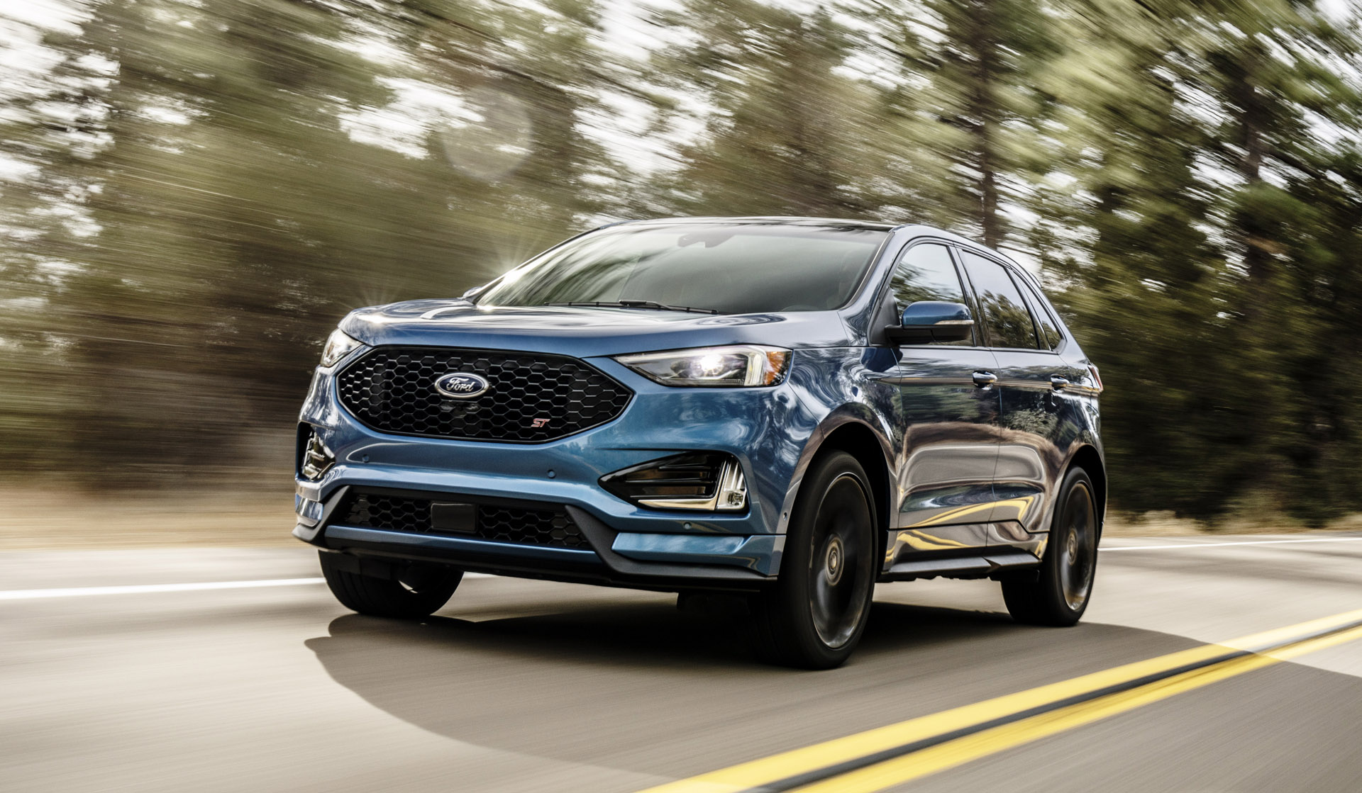 Hot crossover 2019 ford edge st to cost 43350