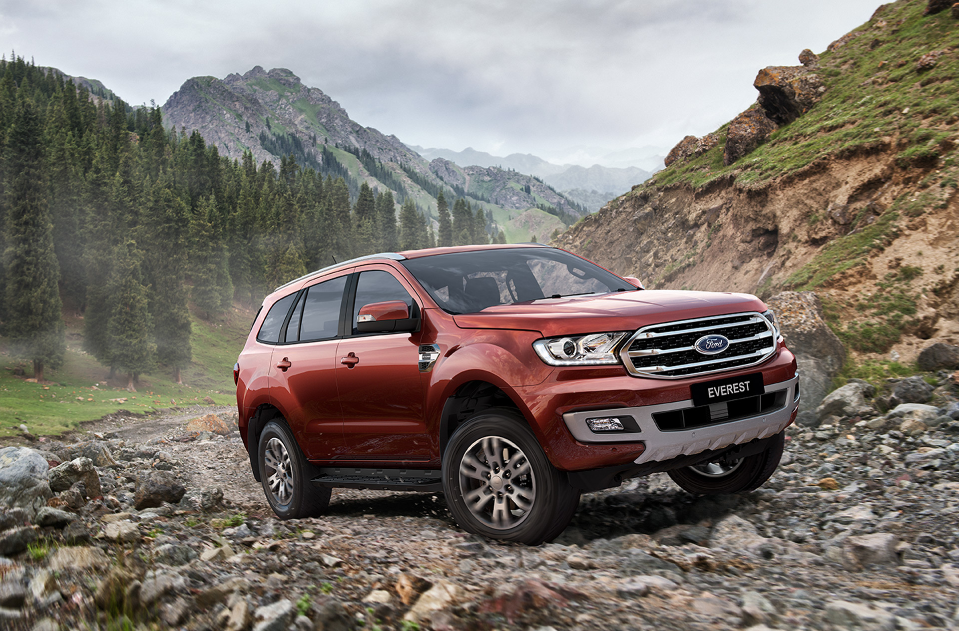 Meet the 2019 ford everest the other ranger based suv