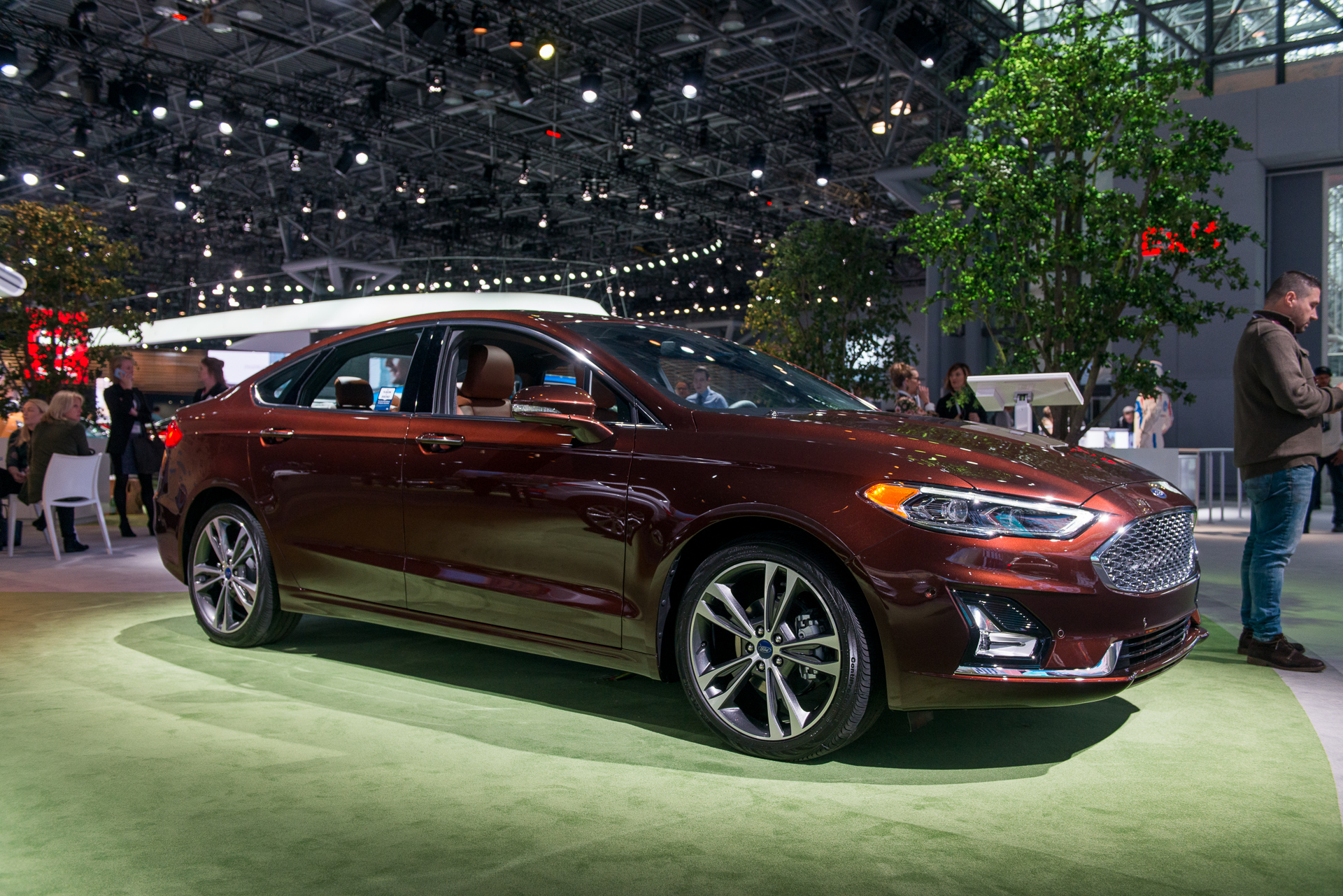 fluff, buff, and safety stuff: 2019 ford fusion gets new face and