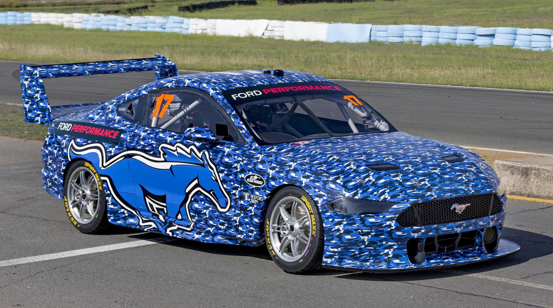 2019 Ford Mustang Australia Supercars Racer Revealed